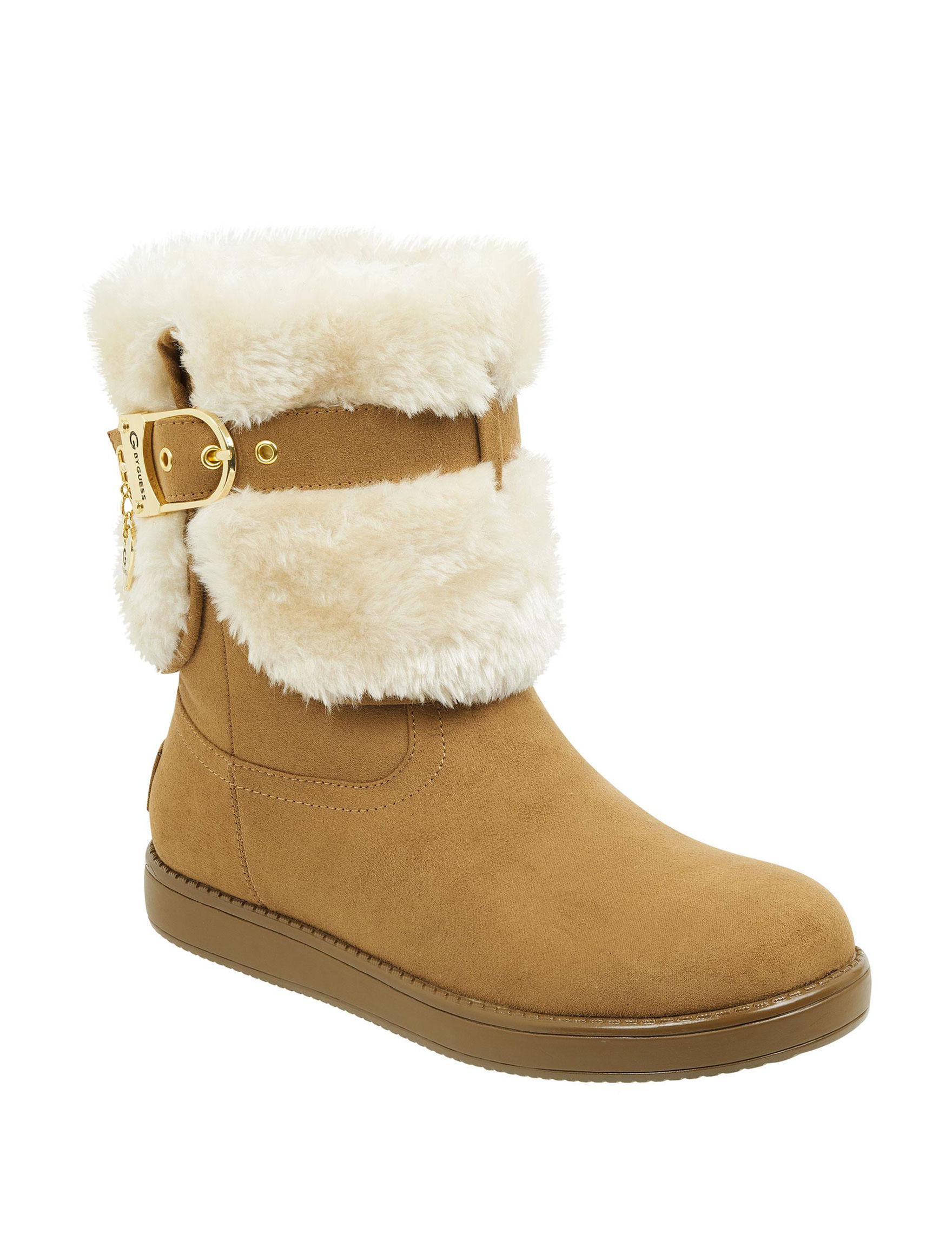 G by Guess Brown Winter Boots
