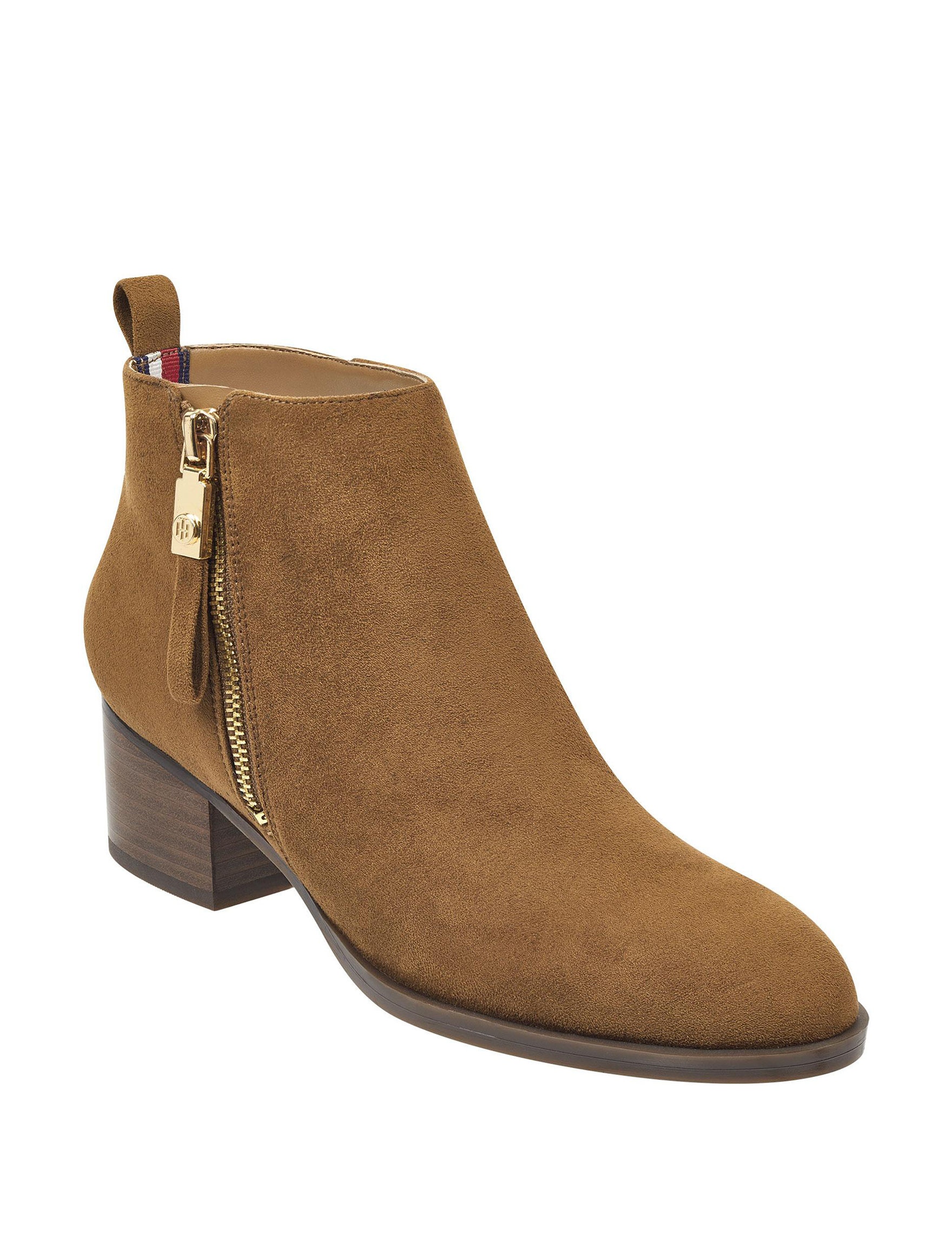 Tommy Hilfiger Beige Ankle Boots & Booties