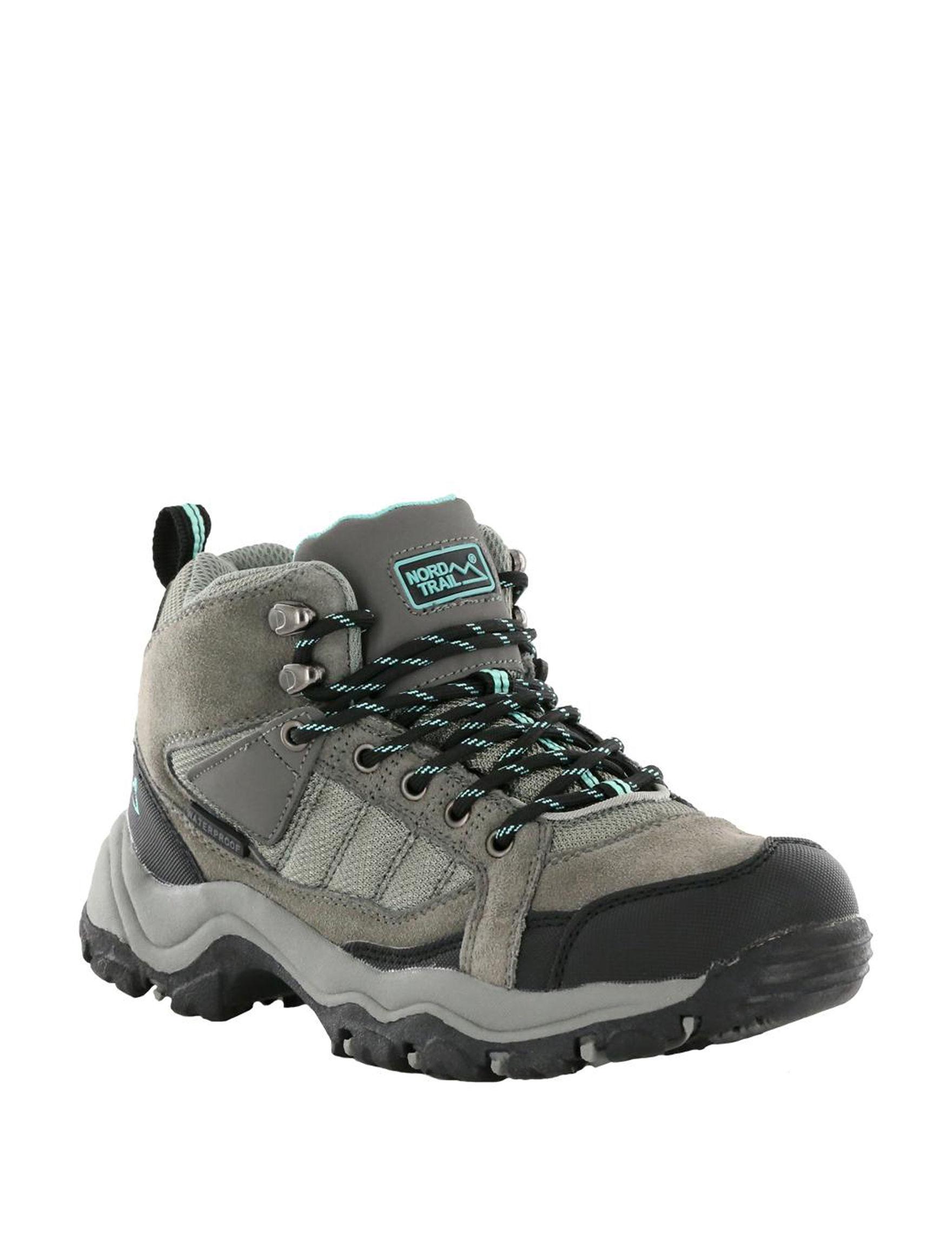 Nord Trail Dark Grey Hiking Boots