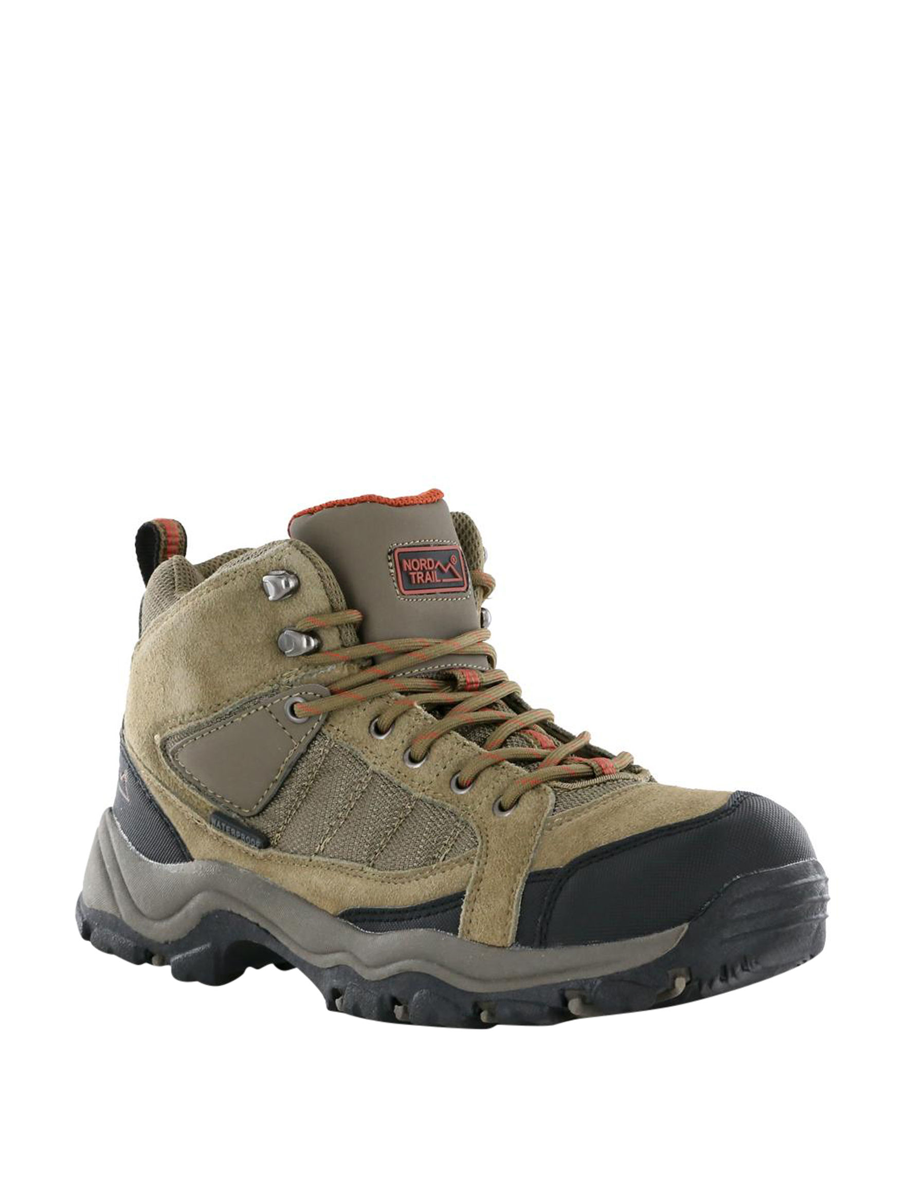 Nord Trail Brown Hiking Boots Waterproof