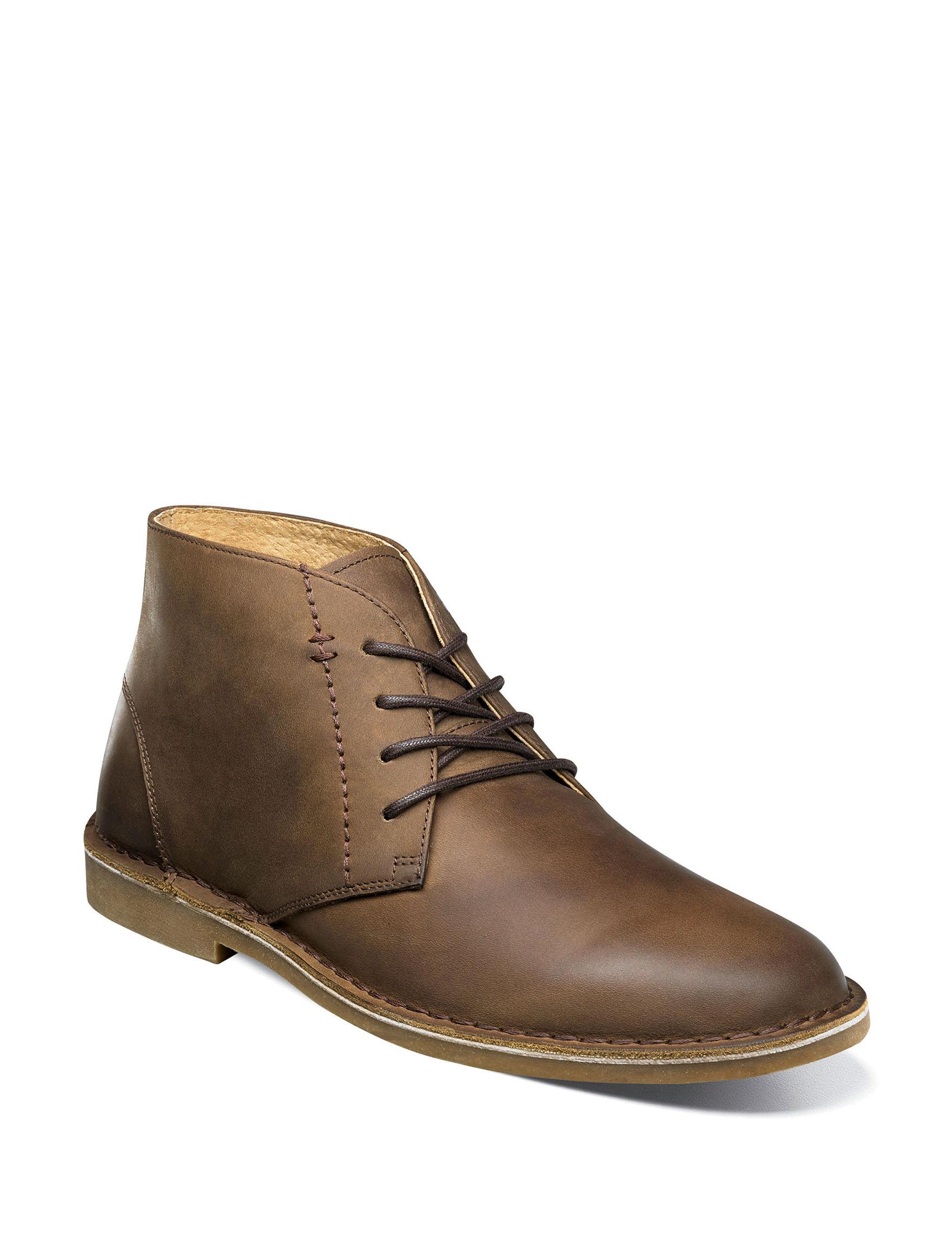 Nunn Bush Tan Chukka Boots