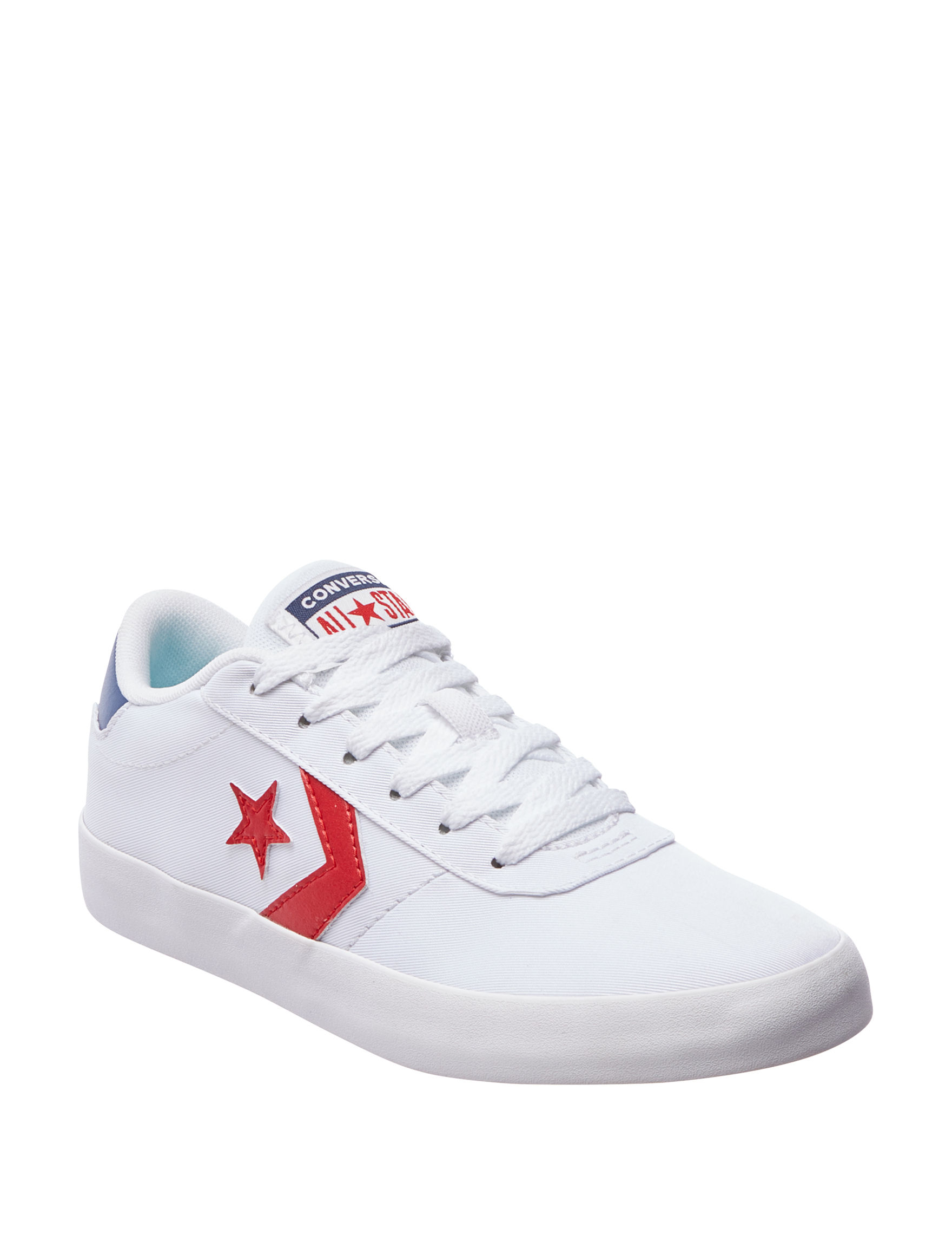 Converse White / Navy / Red