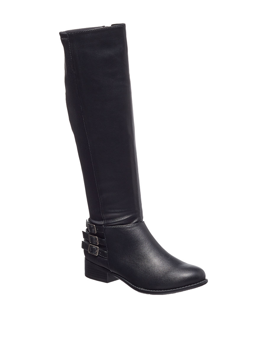 Italian Shoemakers Black Riding Boots