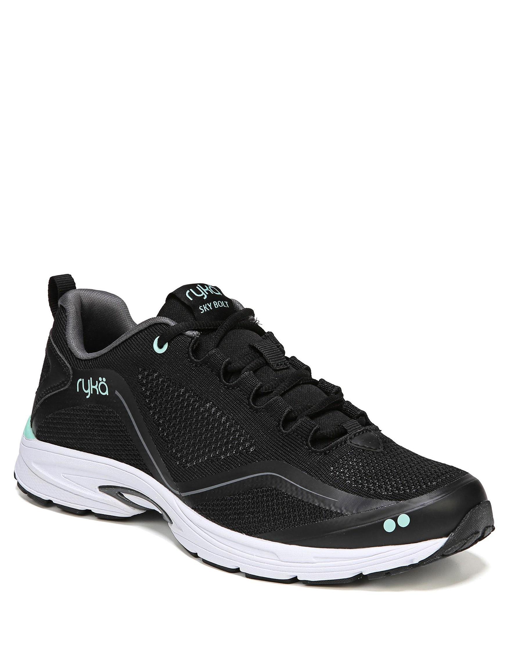 Ryka Black White Comfort Shoes