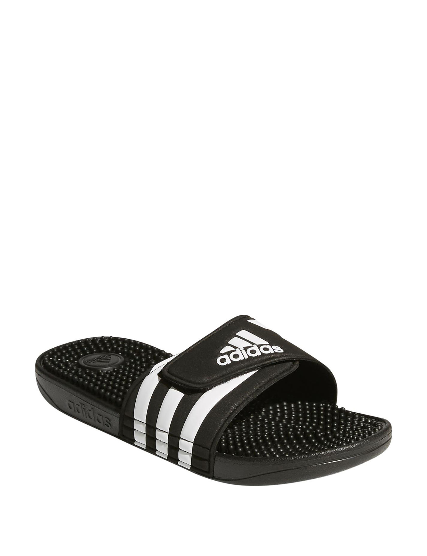 1c3c9efd865d adidas Women s Adissage 3-Stripe Slide Sandals