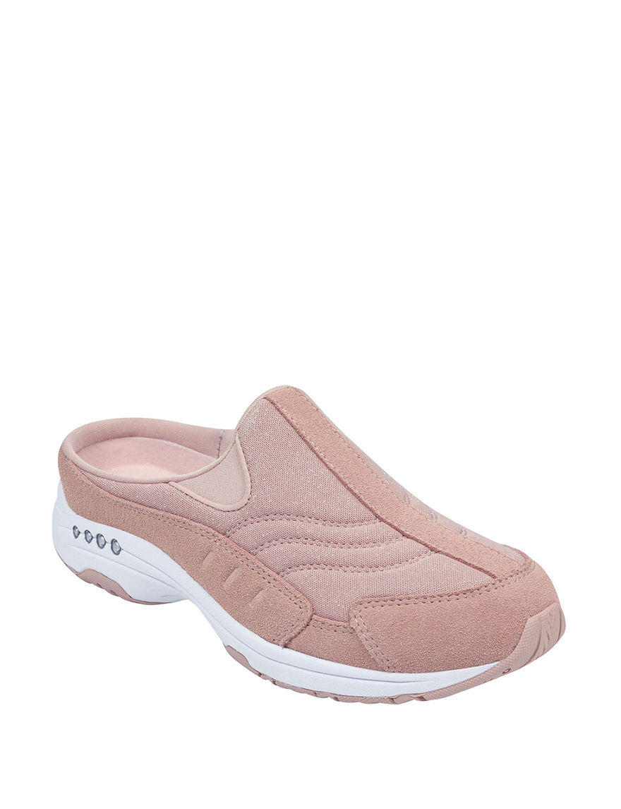 Easy Spirit Pink Clogs Mules