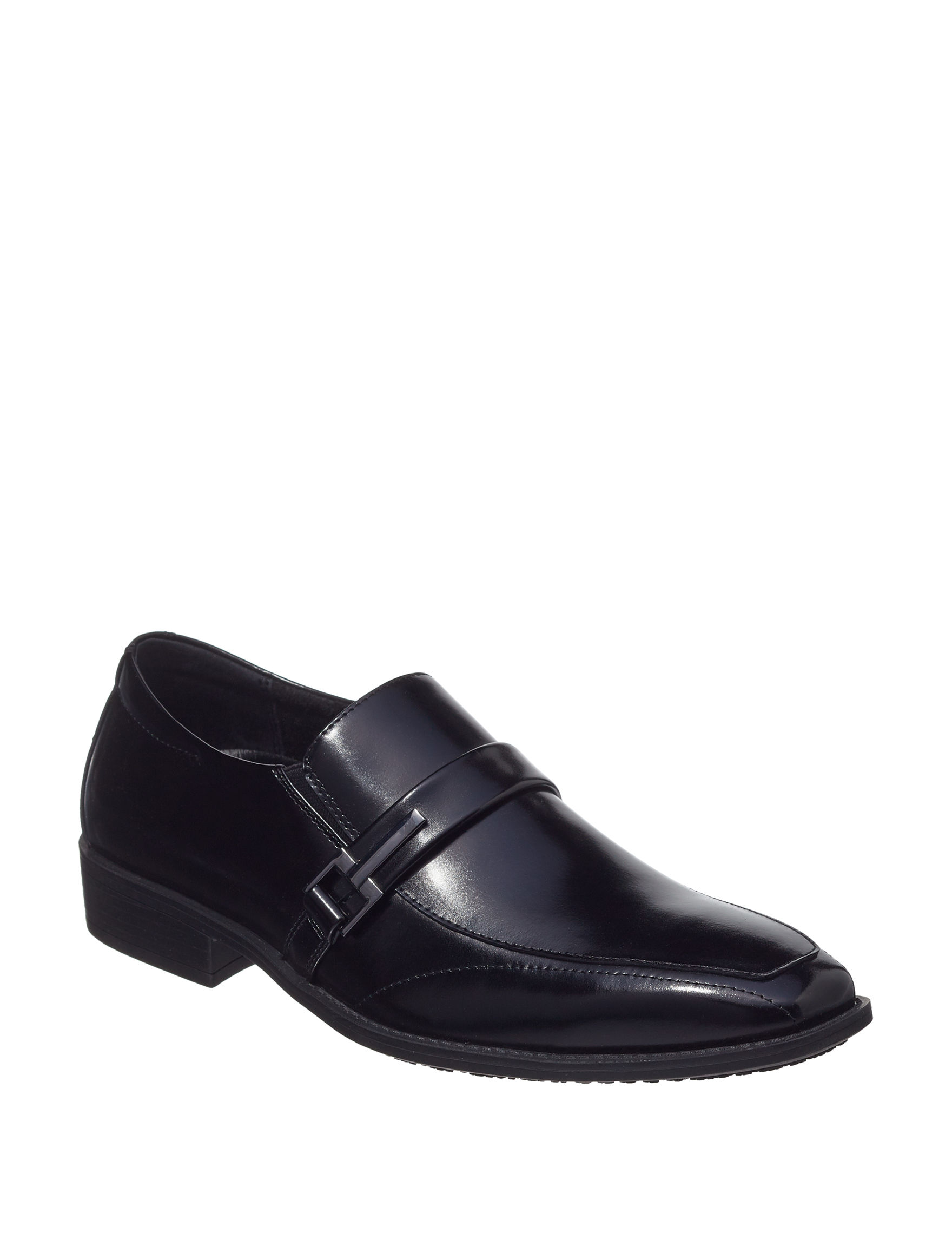 Stacy Adams Black Slip Resistant