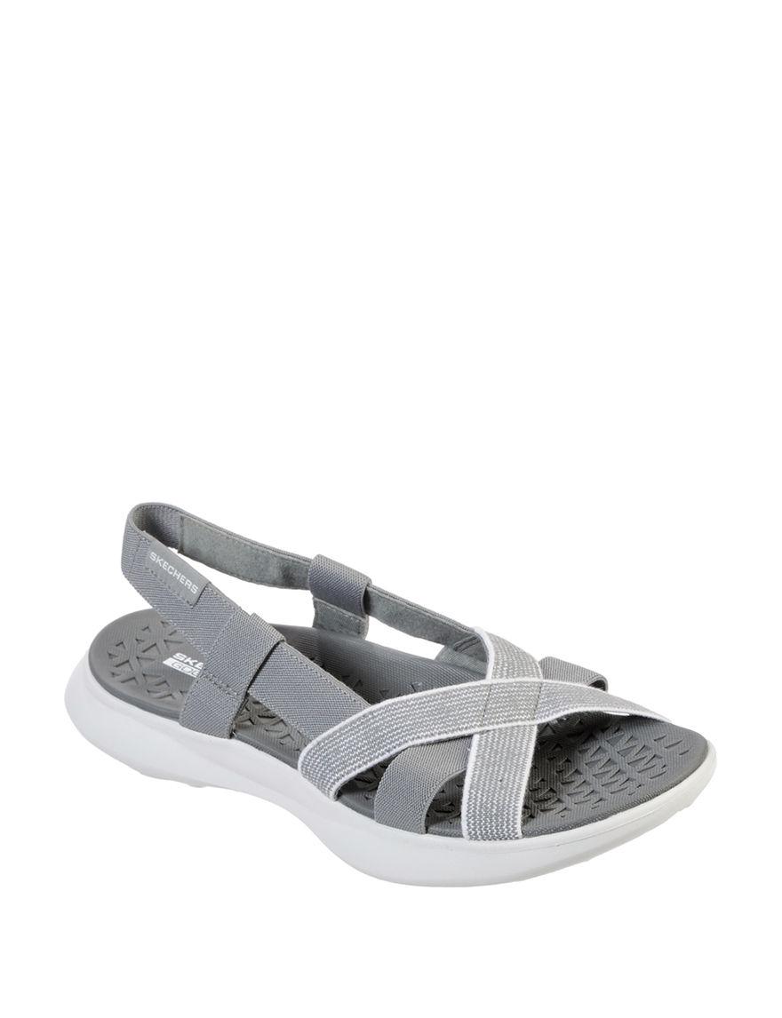 Skechers Grey Sport Sandals