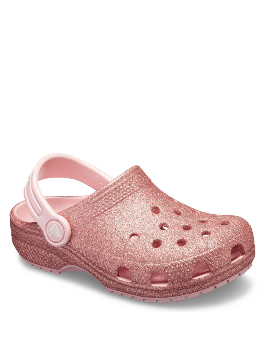 af7087805b Crocs Classic Glitter Clogs - Toddlers & Girls 4-3 | Stage Stores