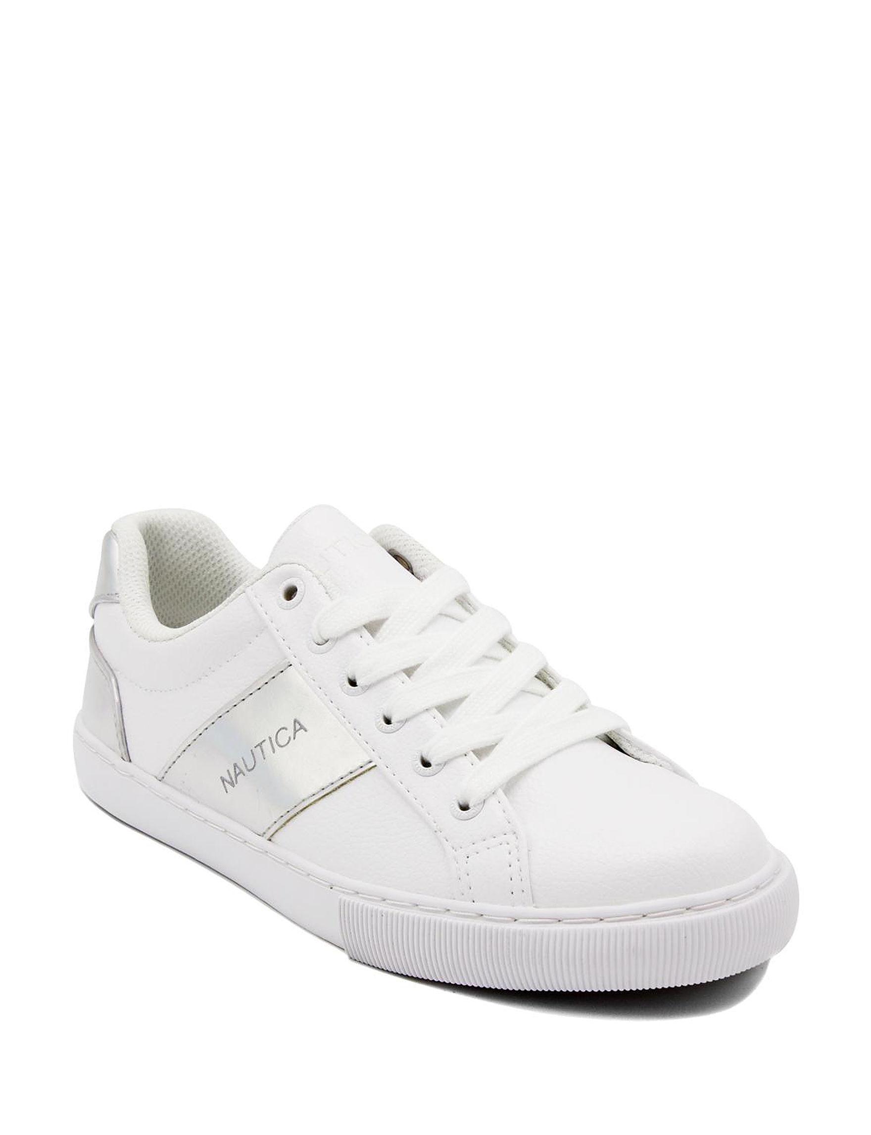 Nautica White Comfort Shoes