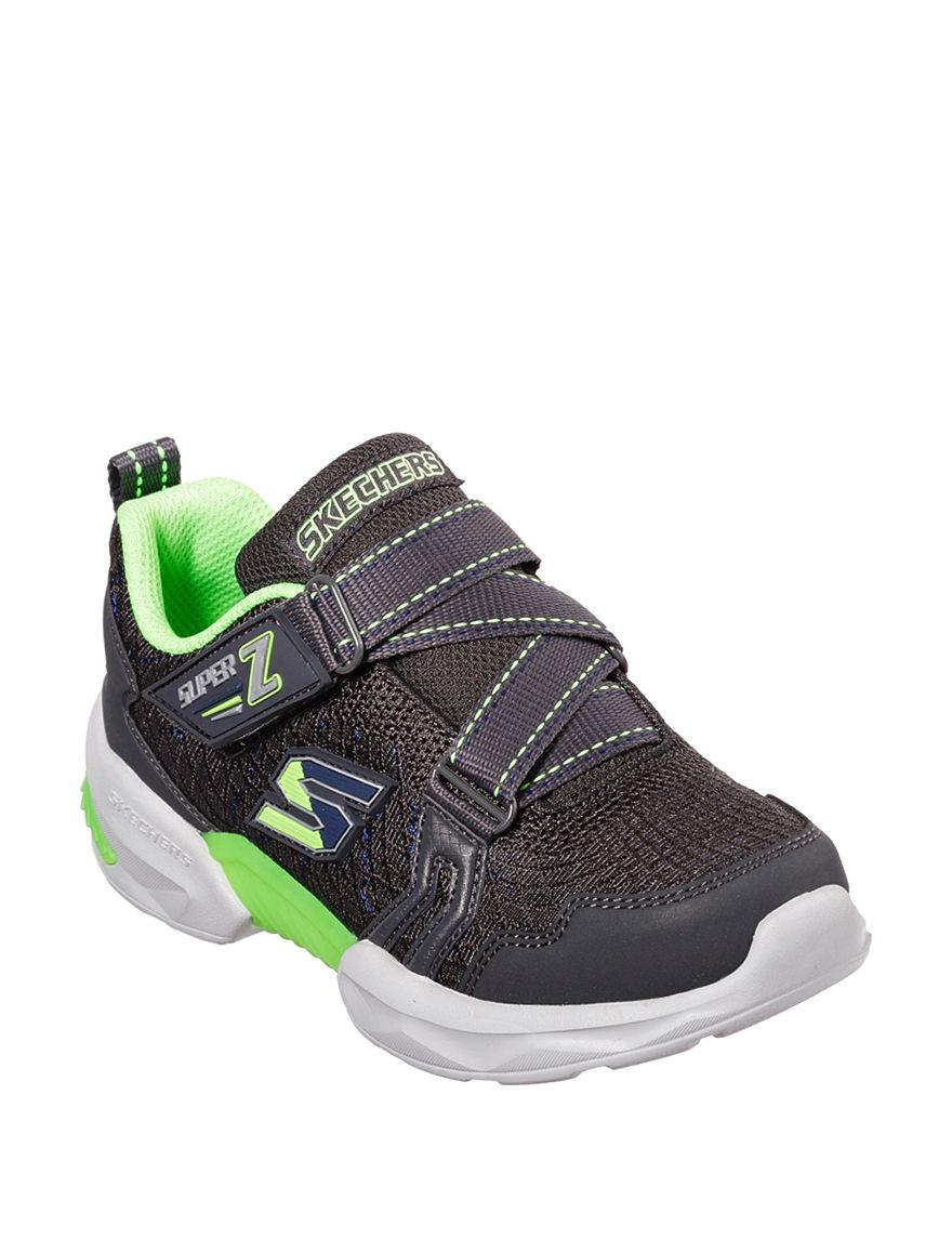 Skechers Grey / Lime