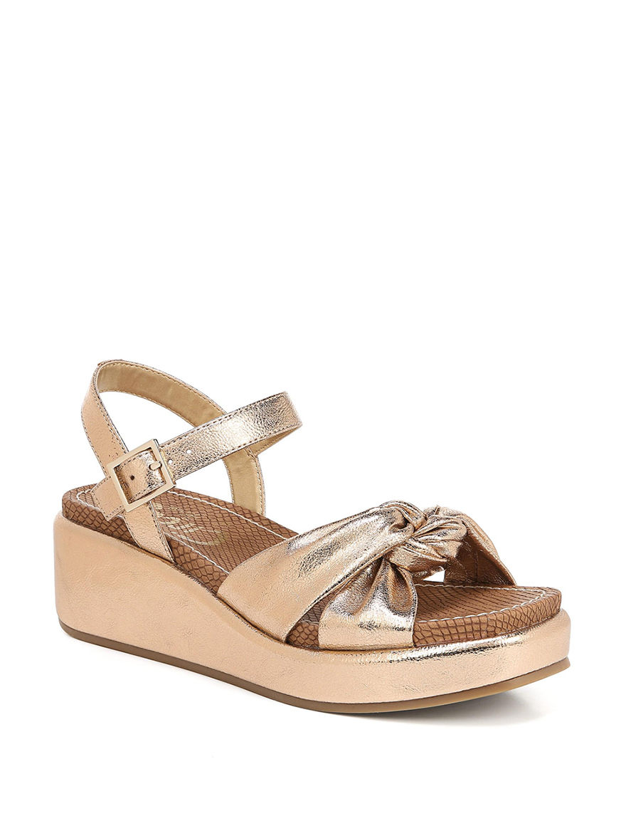 Circus By Sam Edelman Rose Gold Wedge Sandals
