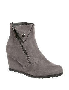 32d4820cac 2 Lips Too Charcoal Ankle Boots & Booties Wedge Boots