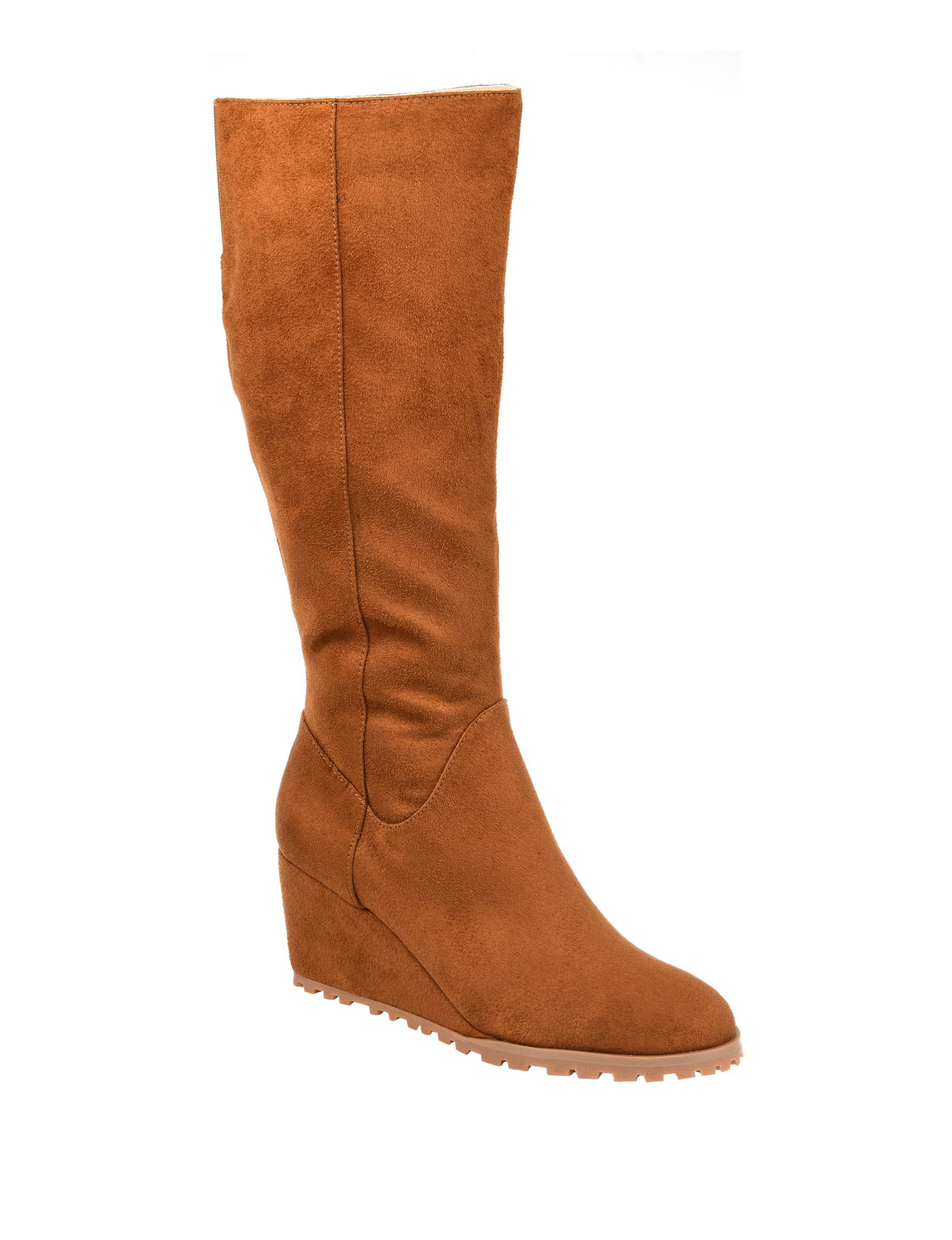 0af1f2843dd8f Journee Collection Women's Parker Extra Wide Calf Comfort Wedge Boots