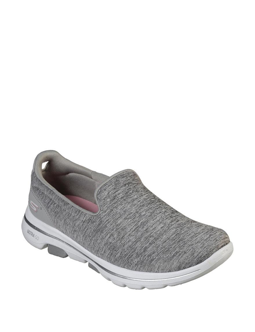 Skechers Grey Comfort Shoes