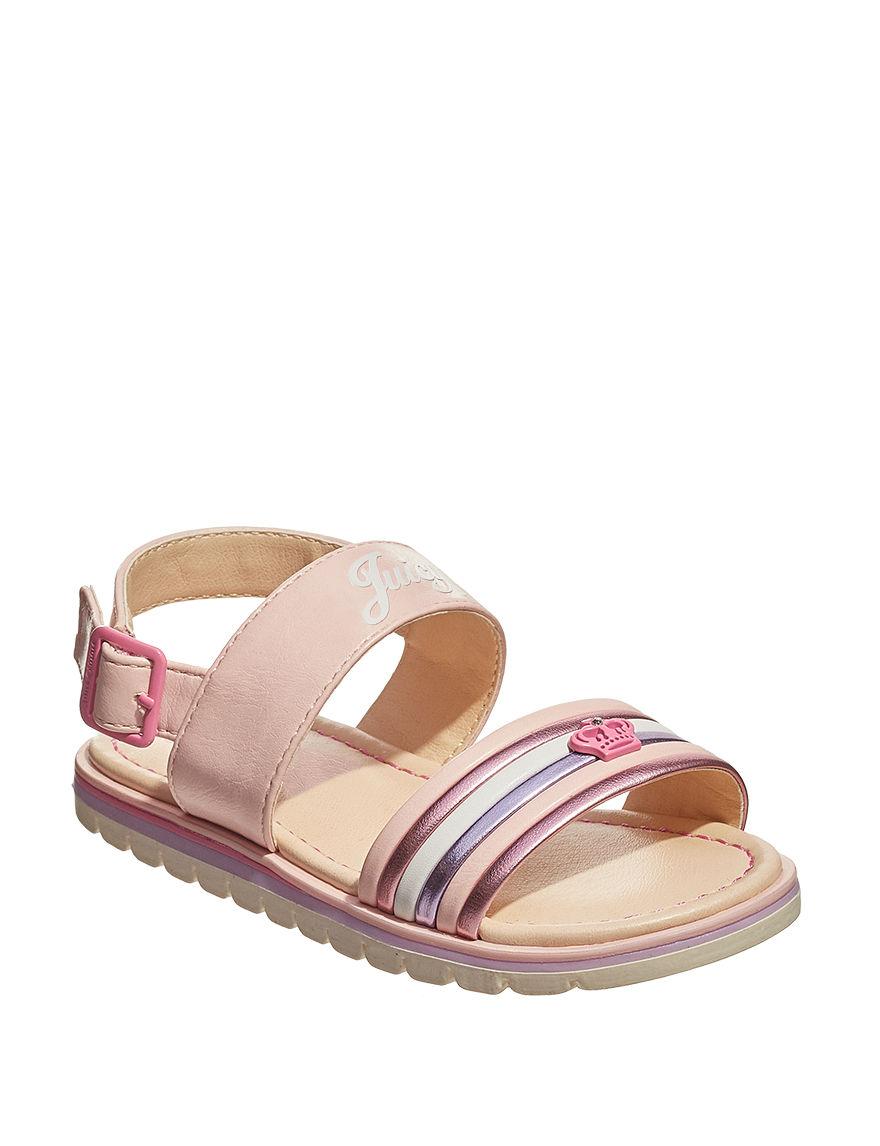 Juicy Couture Blush Flat Sandals
