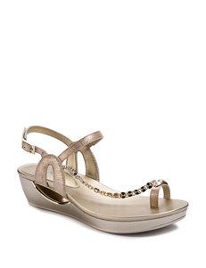 30bb240cfd5 Andrew Geller Casidy Wedge Sandals
