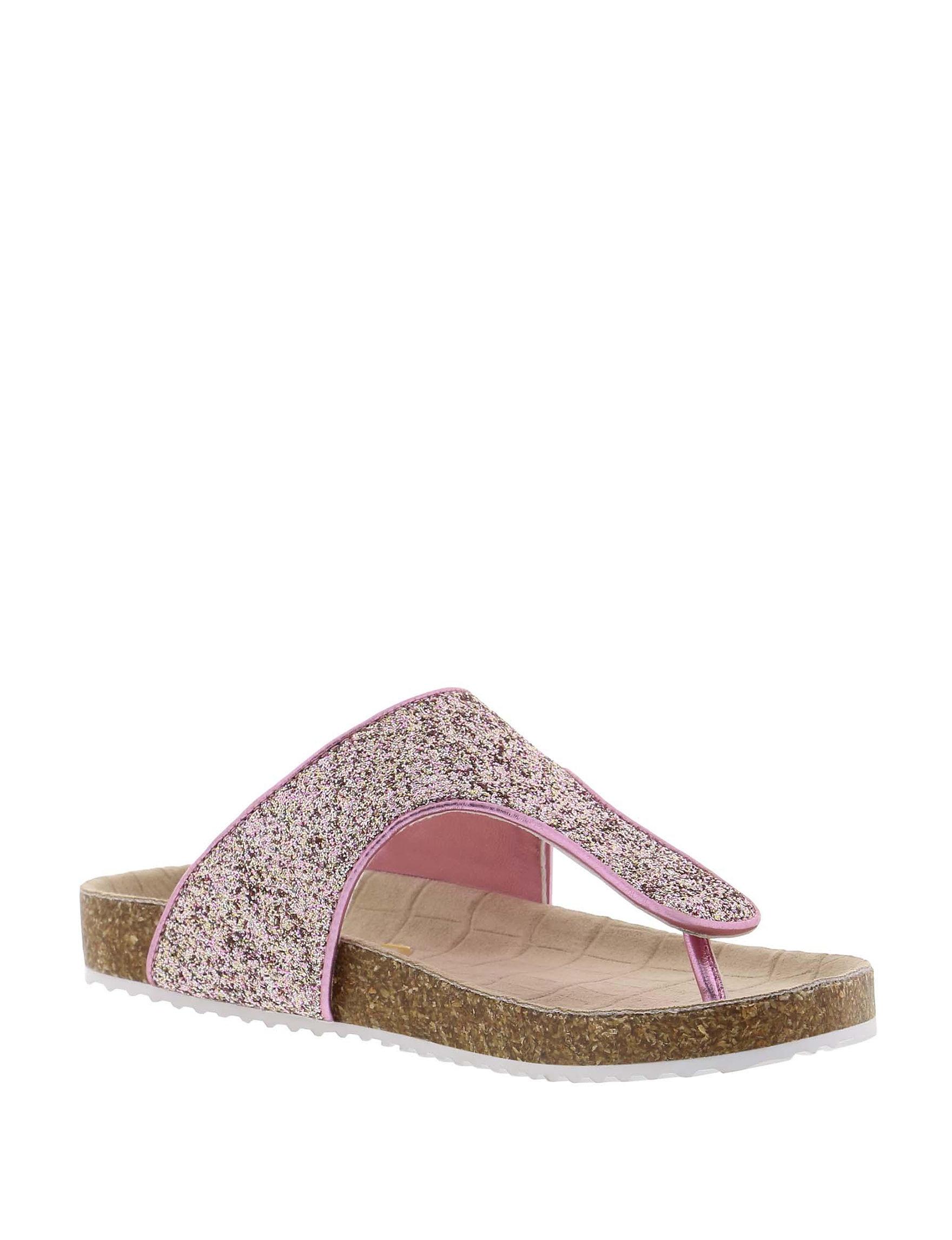 Circus By Sam Edelman Pink Flat Sandals