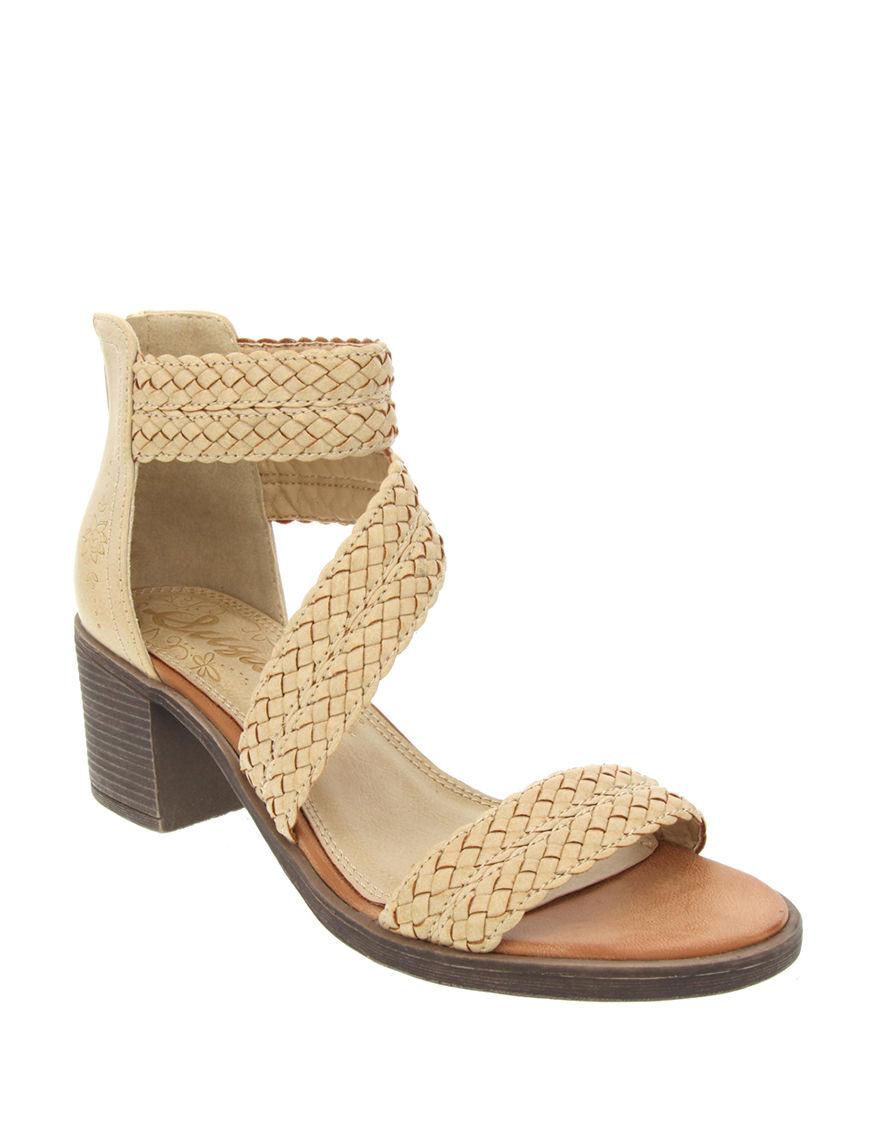 Sugar Beige Heeled Sandals