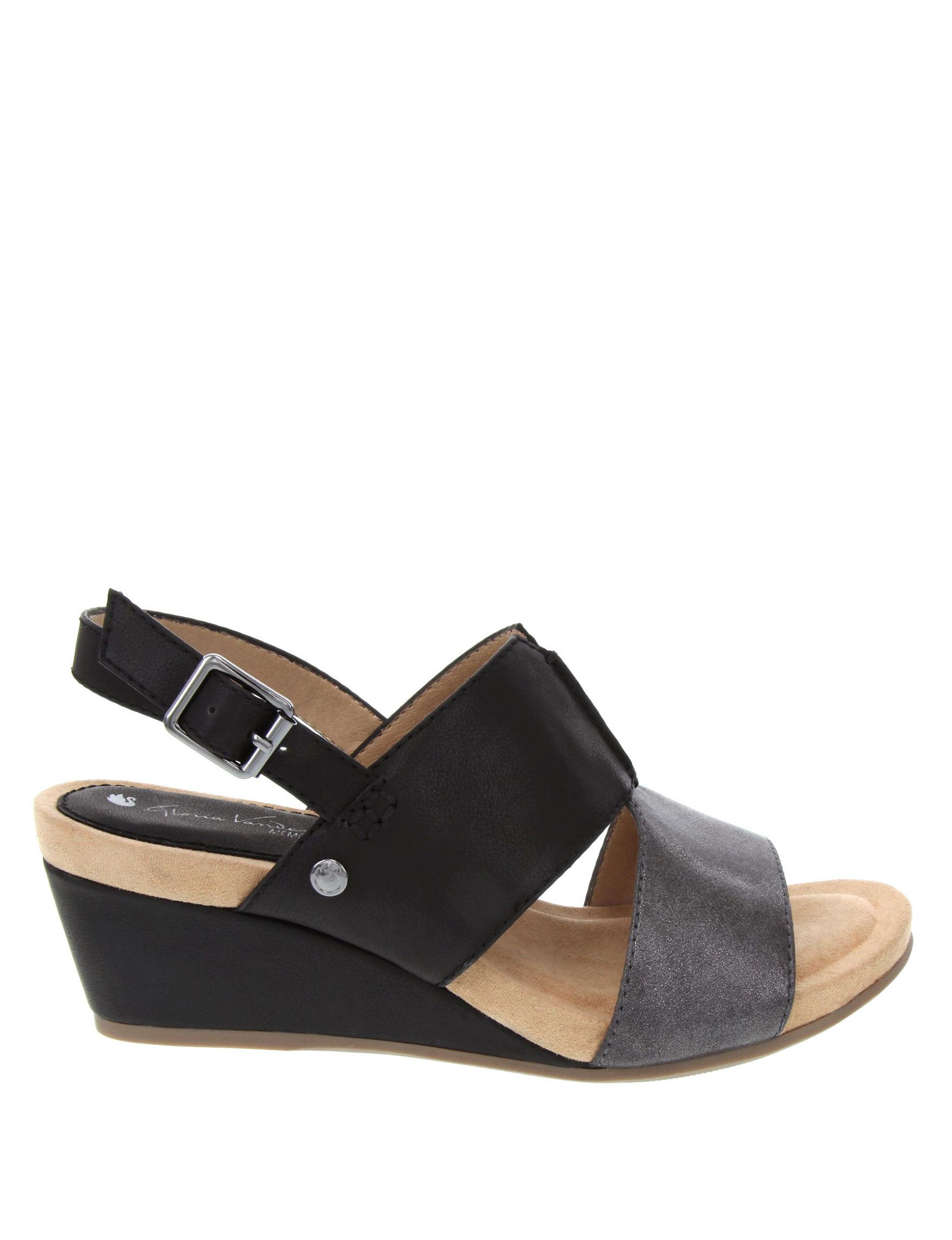 ffbd596762f9 Gloria Vanderbilt Women s Hans Wedge Sandals