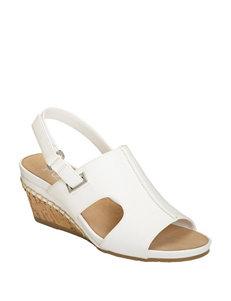 10b7898e5773 A2 by Aerosoles White Wedge Sandals