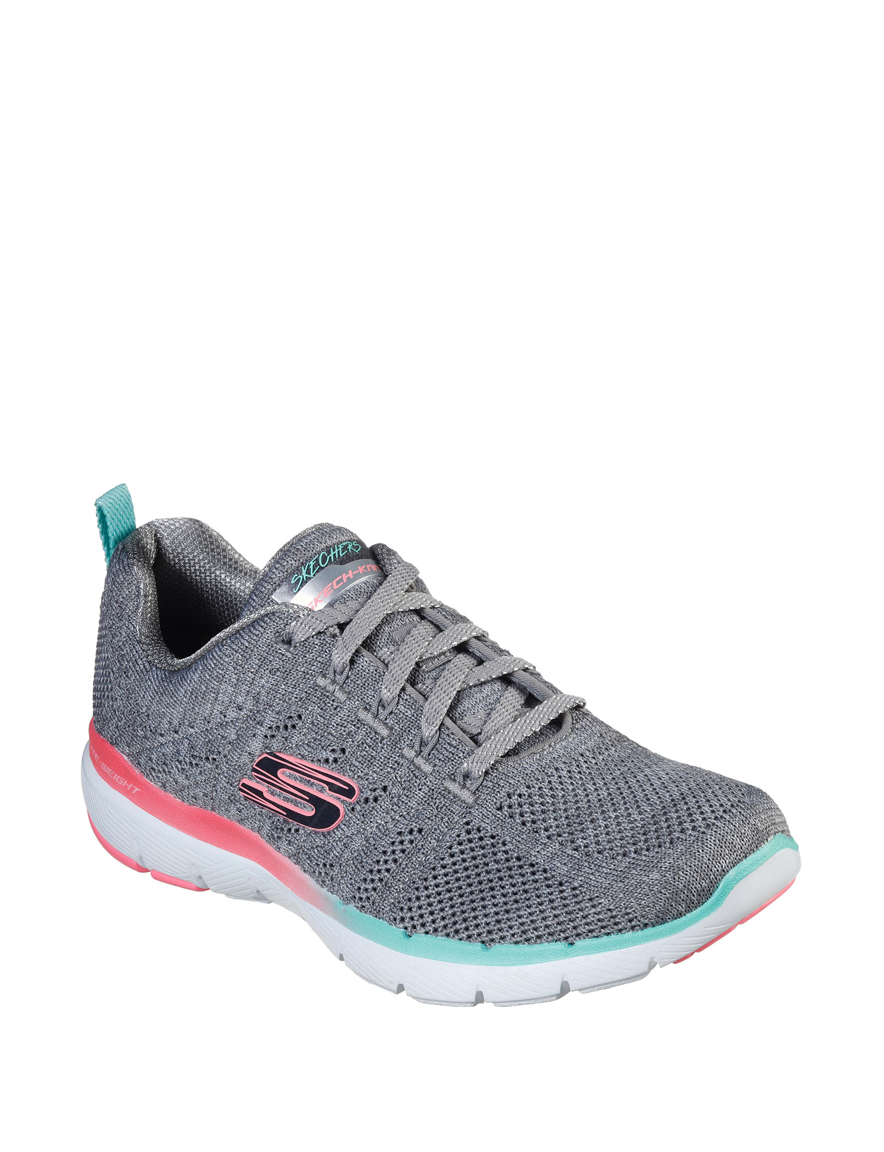 Skechers Grey Comfort Shoes