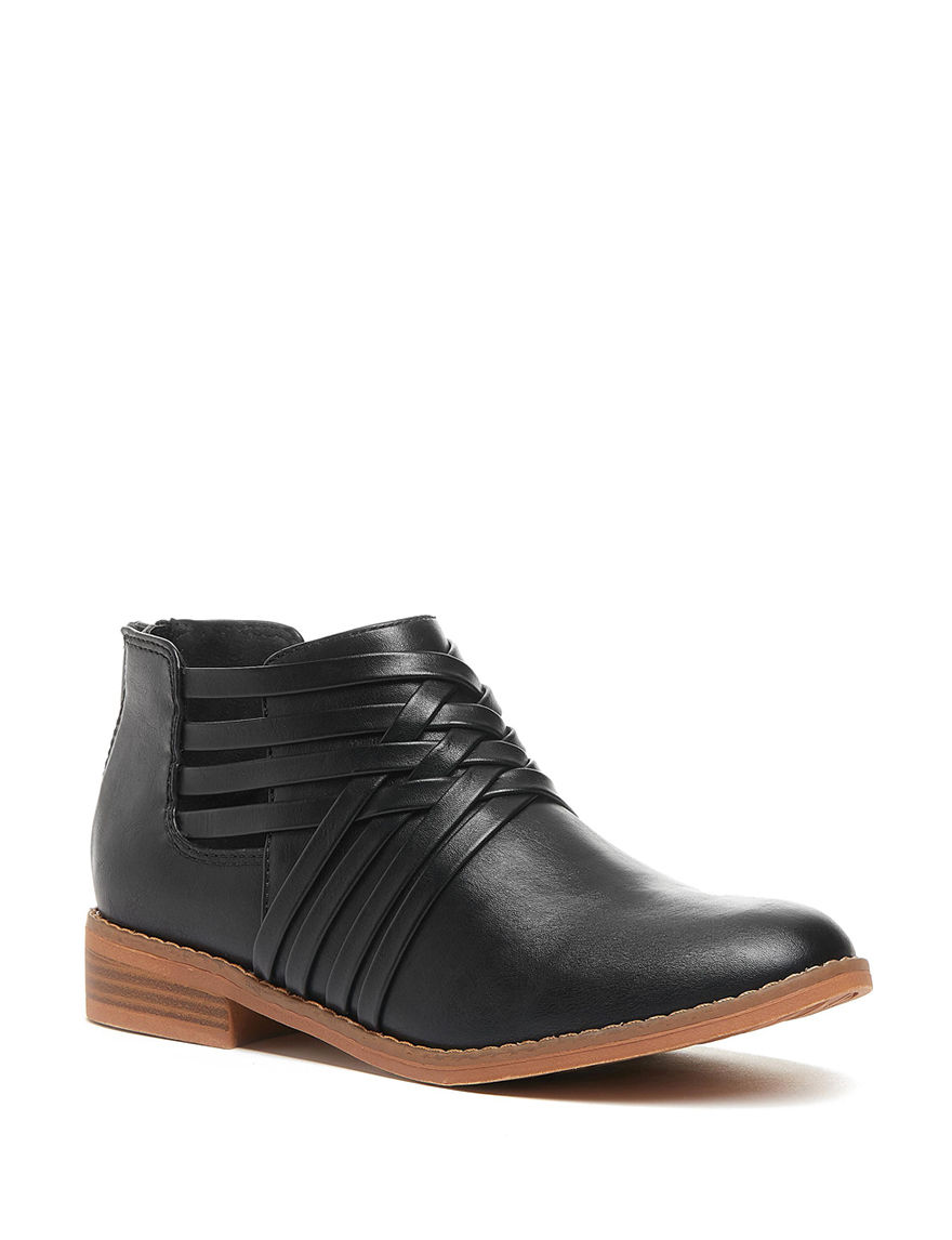 Rocket Dog Black Ankle Boots & Booties