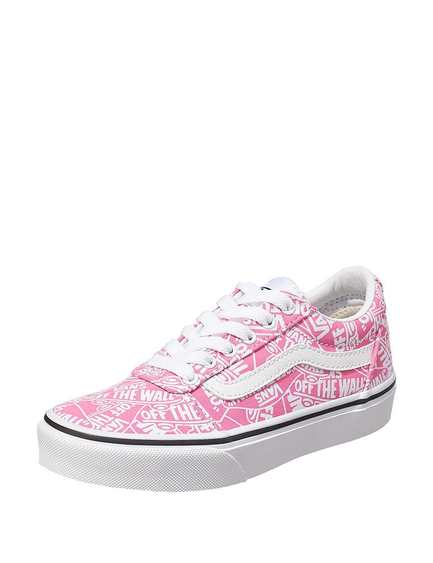 Vans Pink / White
