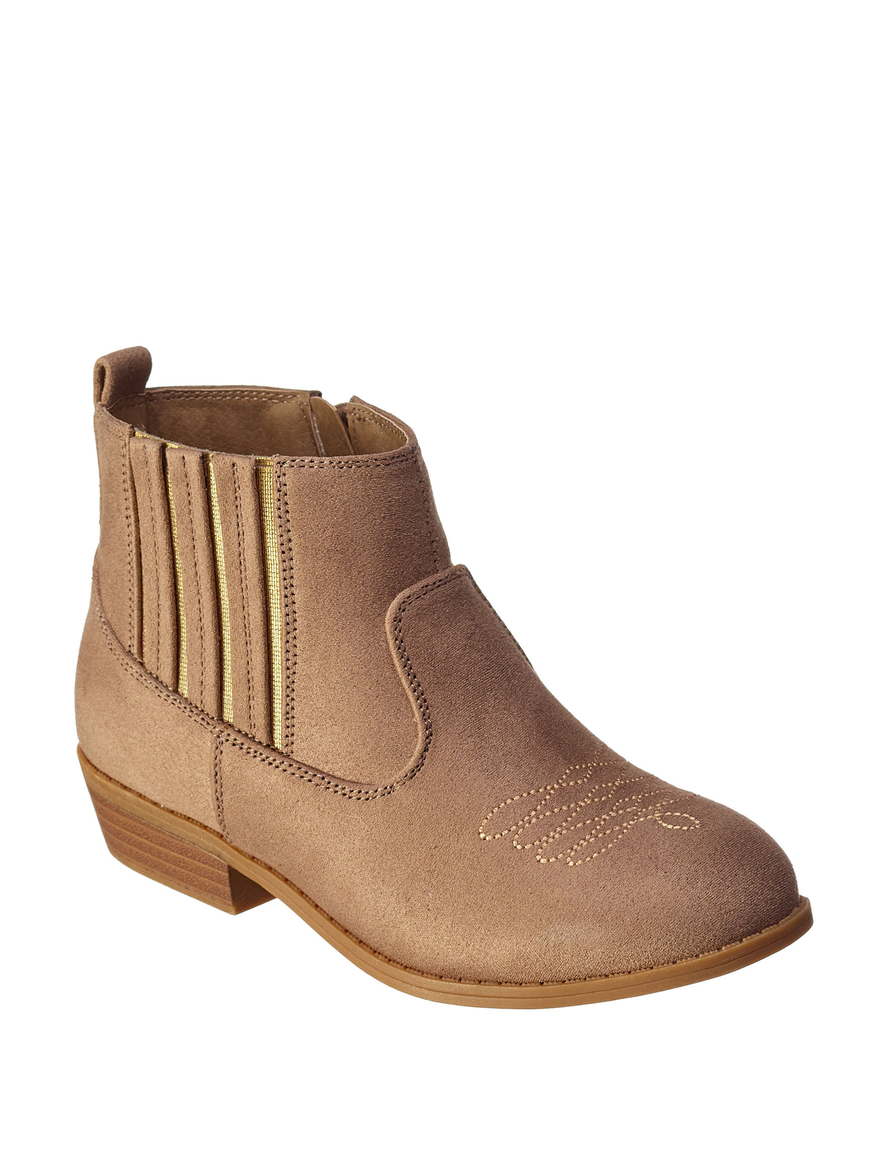 Rampage Tan Ankle Boots & Booties Western & Cowboy Boots