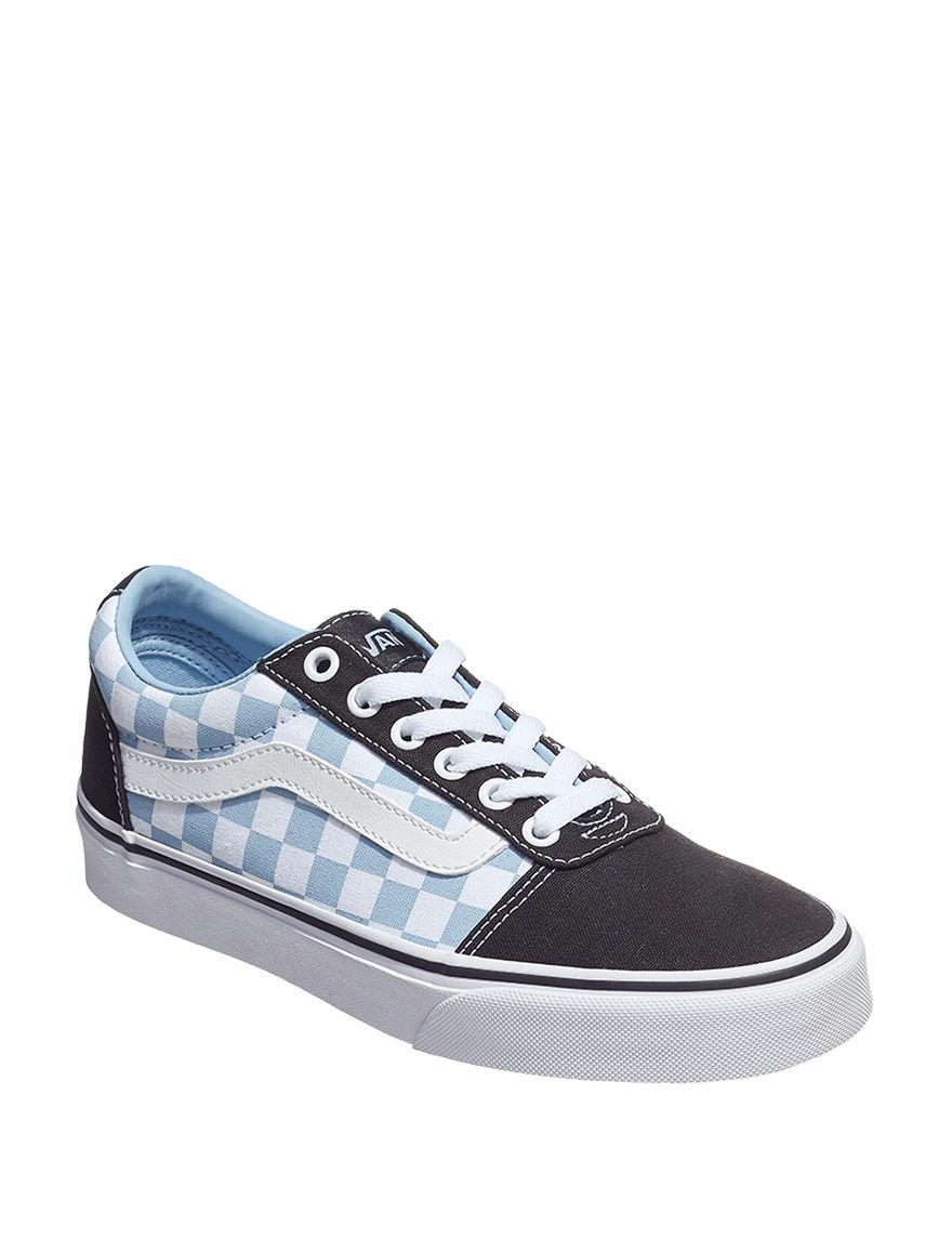 Vans White / Blue