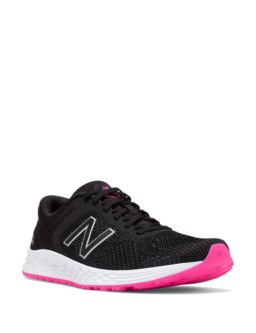 New Balance Pink / Black Comfort Shoes