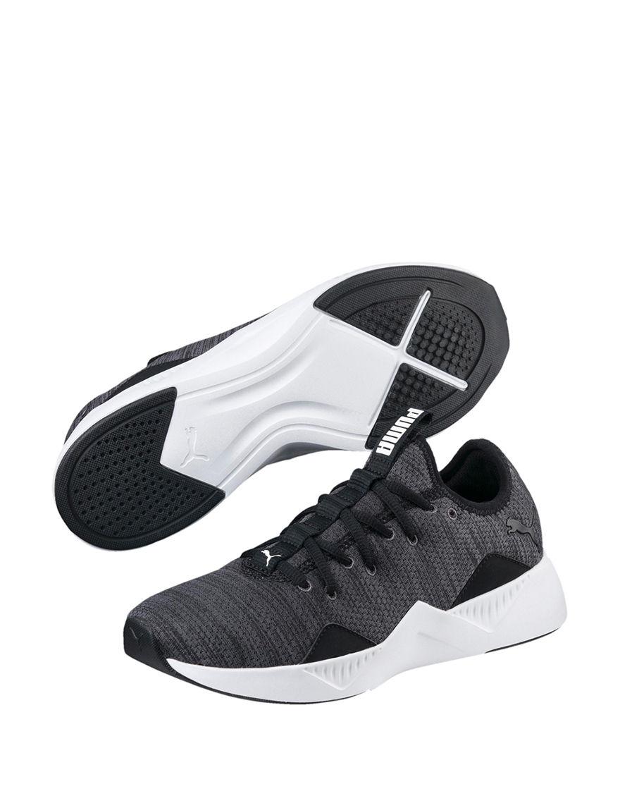 Puma Black / White Comfort Shoes