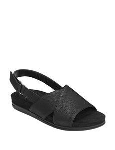 678d6603ba96 A2 by Aerosoles Black Flat Sandals