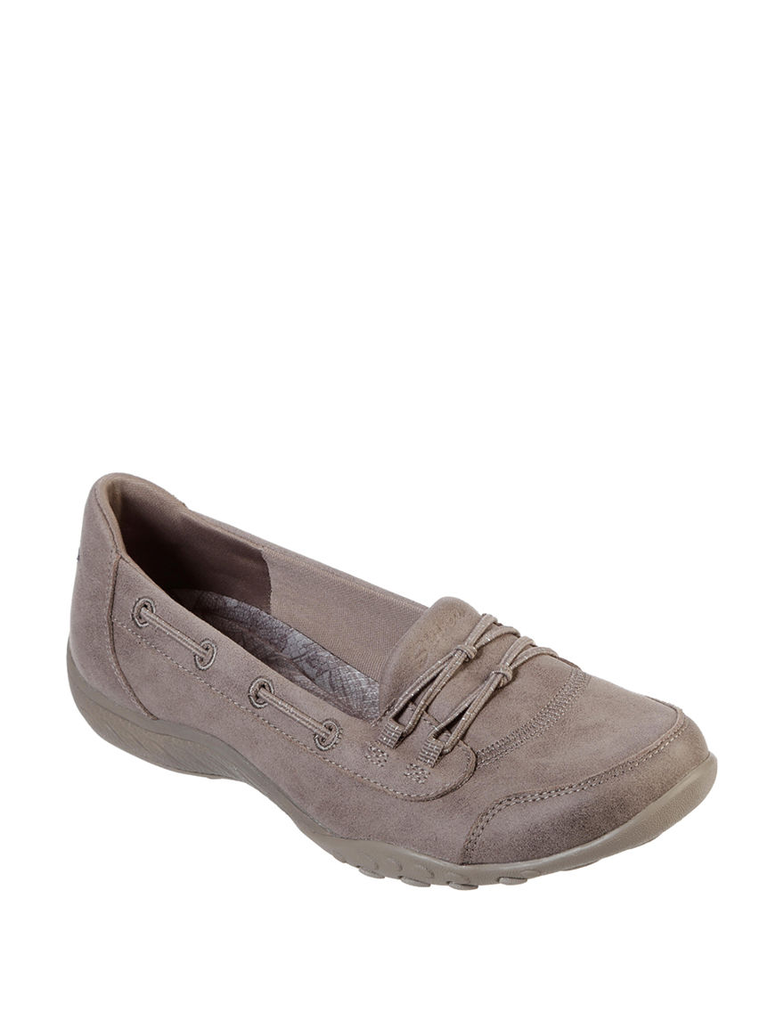 Skechers Taupe Comfort Shoes