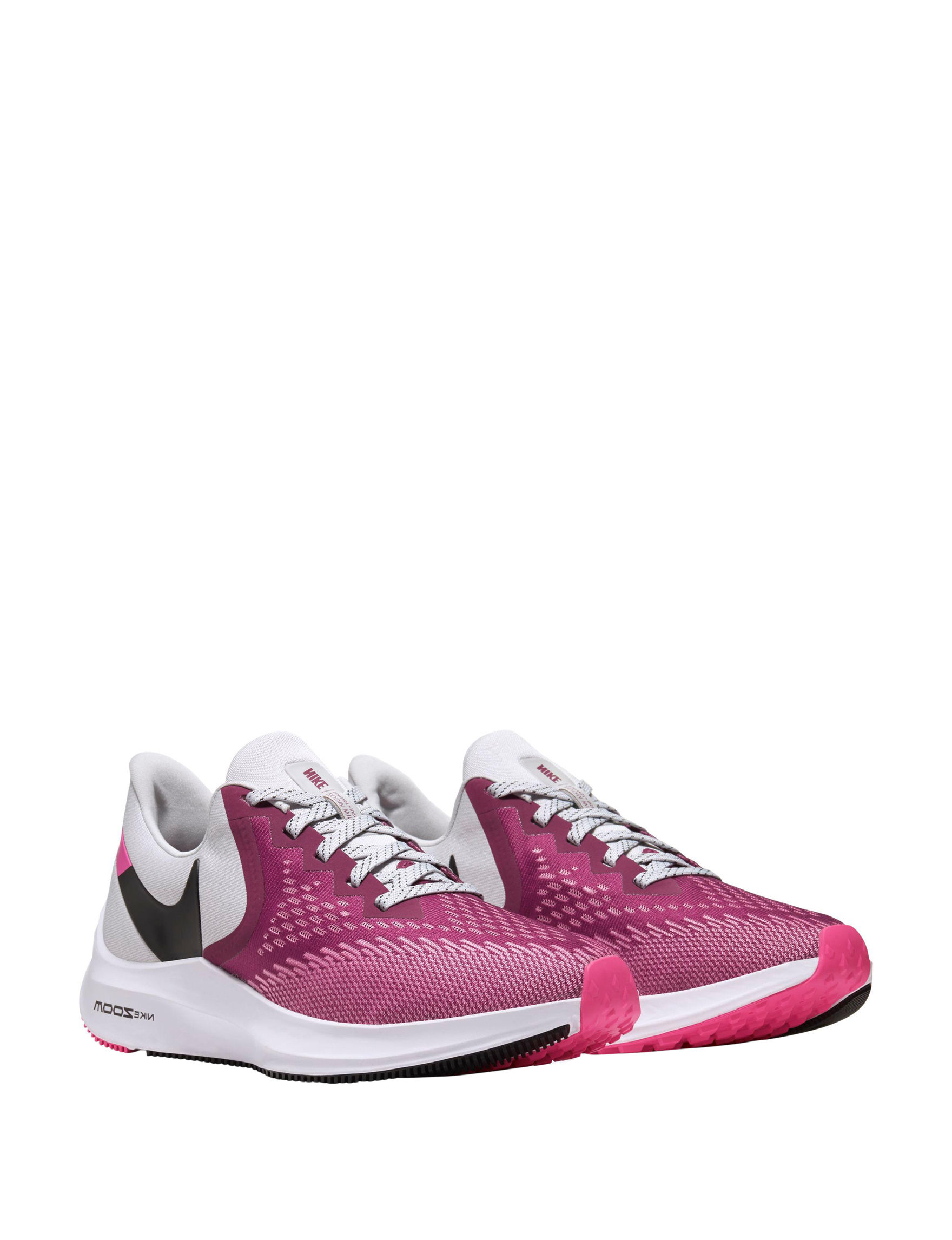 Nike Grey / Pink Comfort Shoes