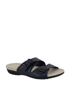 bfdcbbd700e5 Easy Street Women s Venus Cut-Out Buckle Sandals