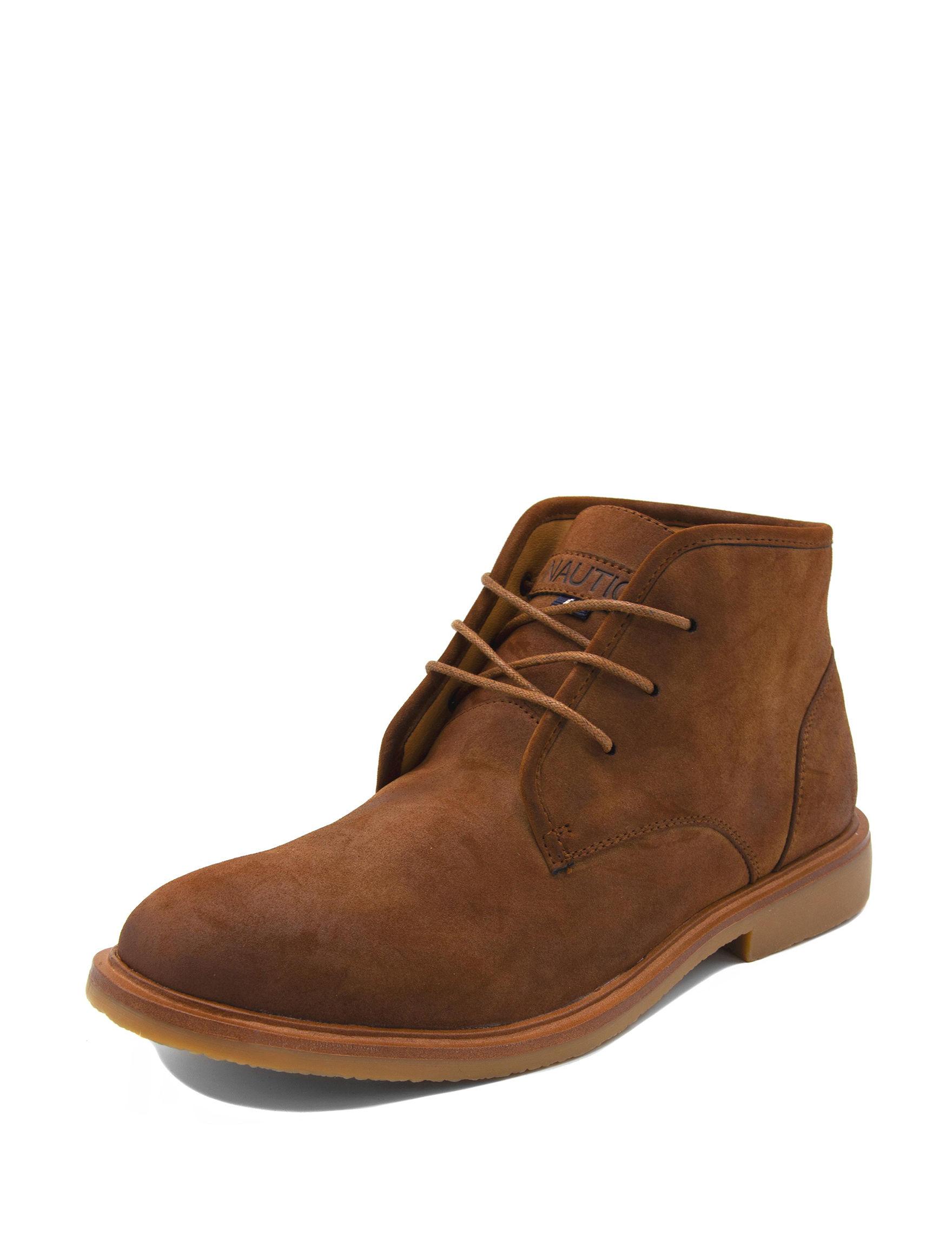 Nautica Brown Chukka Boots