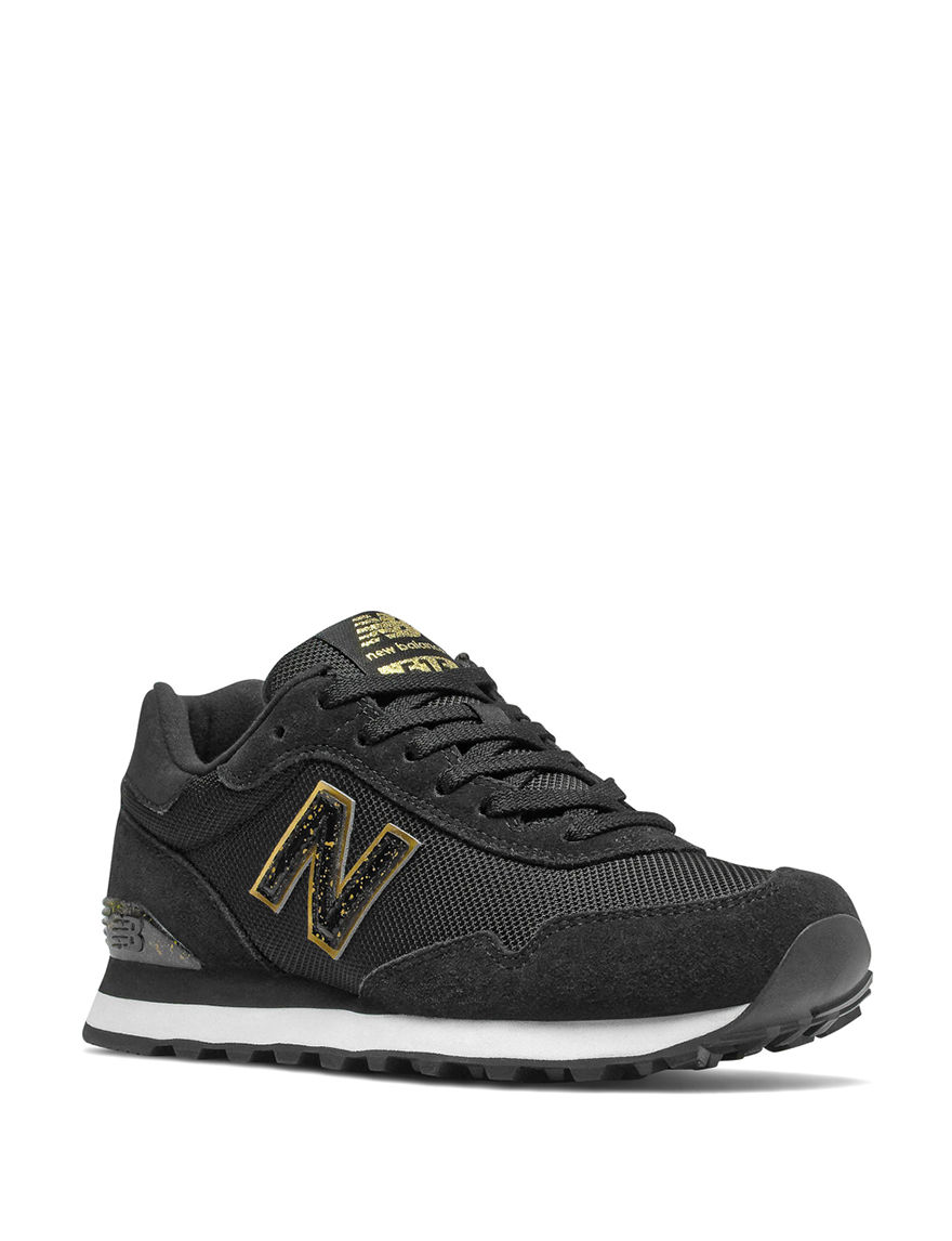 New Balance Black / Gold Comfort Shoes