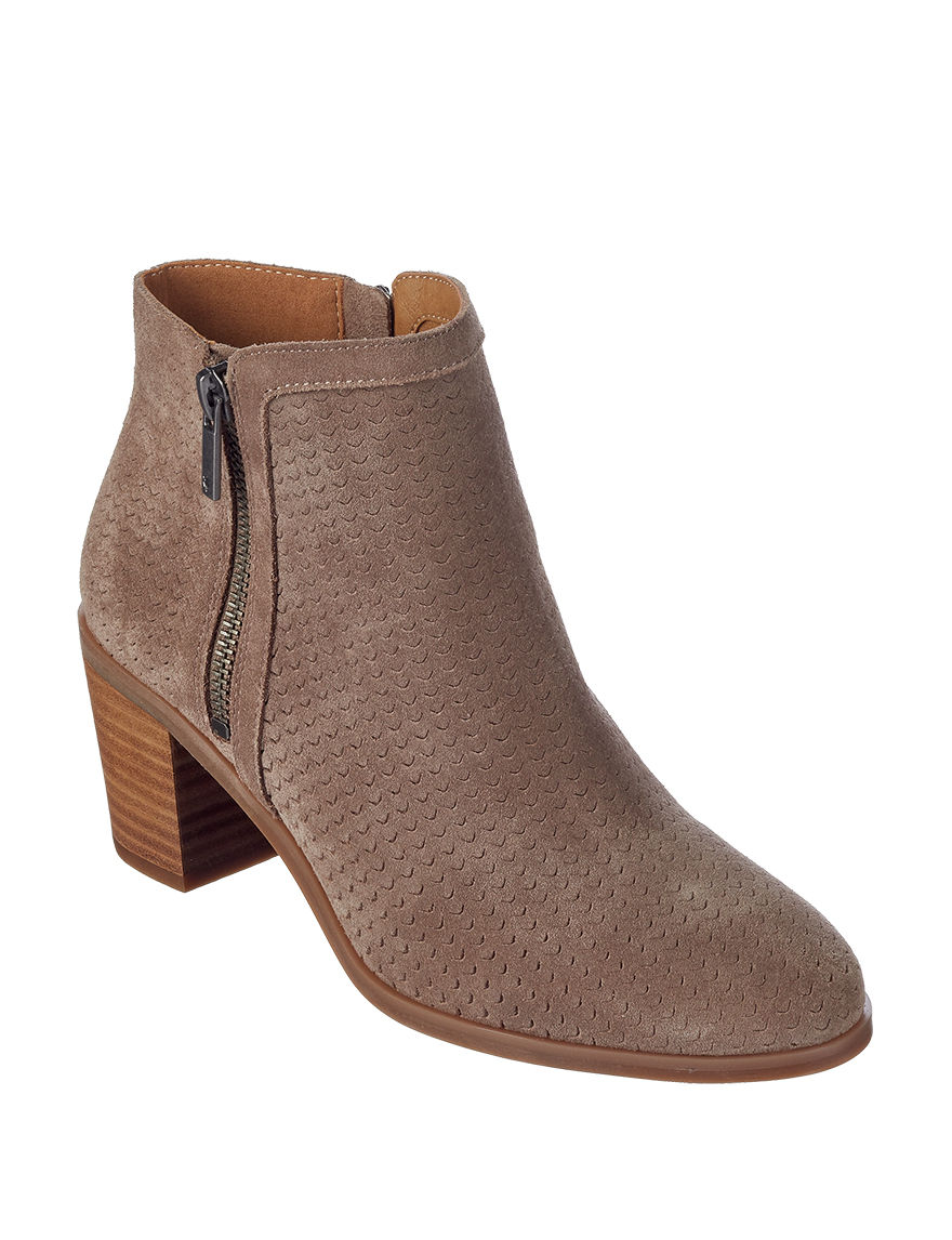 Lucky Brand Brown Ankle Boots & Booties