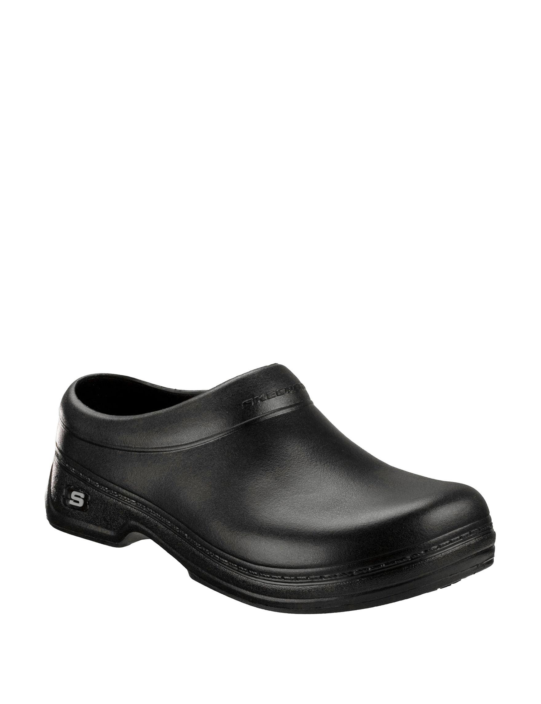b9cde658 Skechers Men's Oswald Balder Slip Resistant Work Clogs. Online Only. WEB ID  #:606760. product