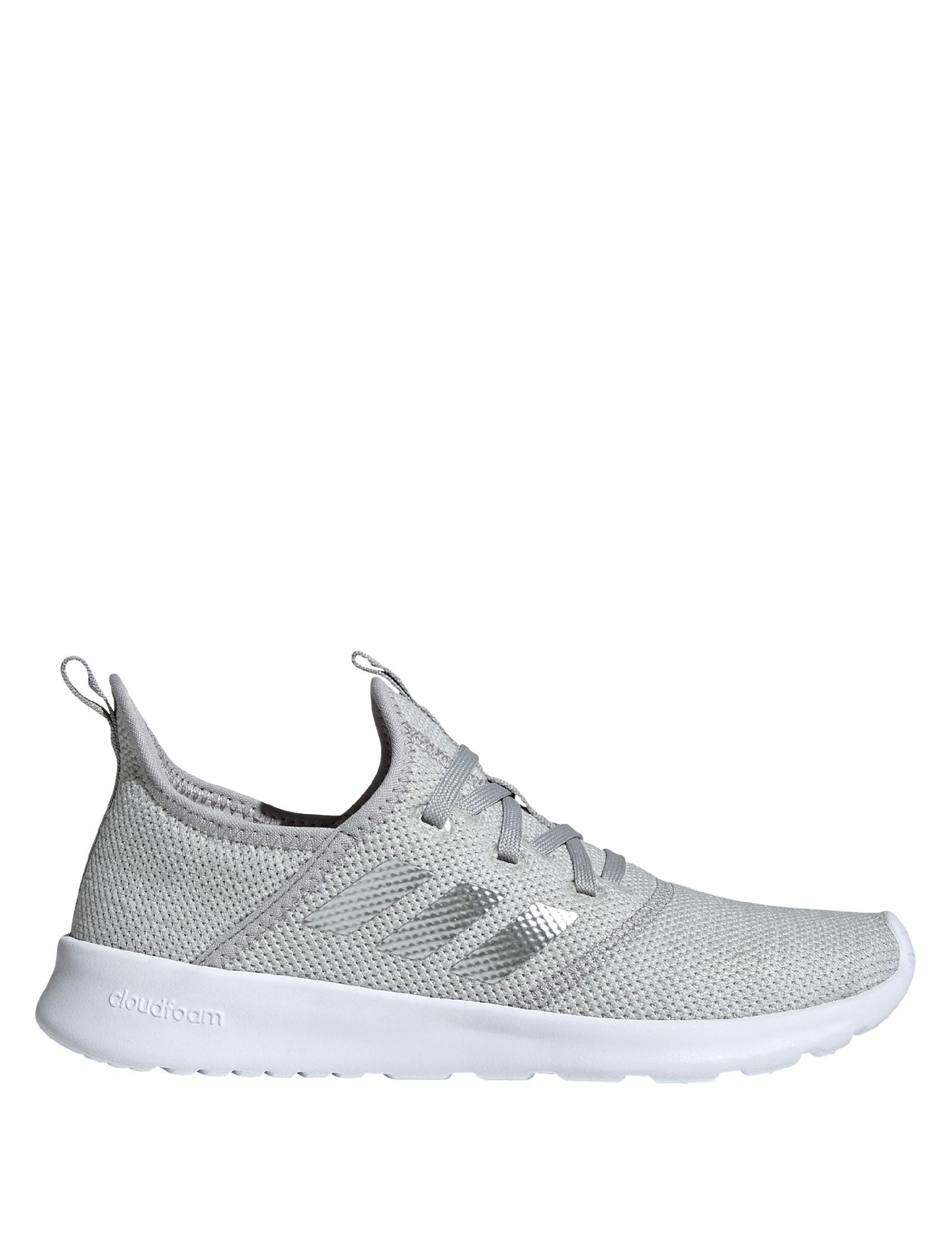 Adidas Grey / White Comfort Shoes