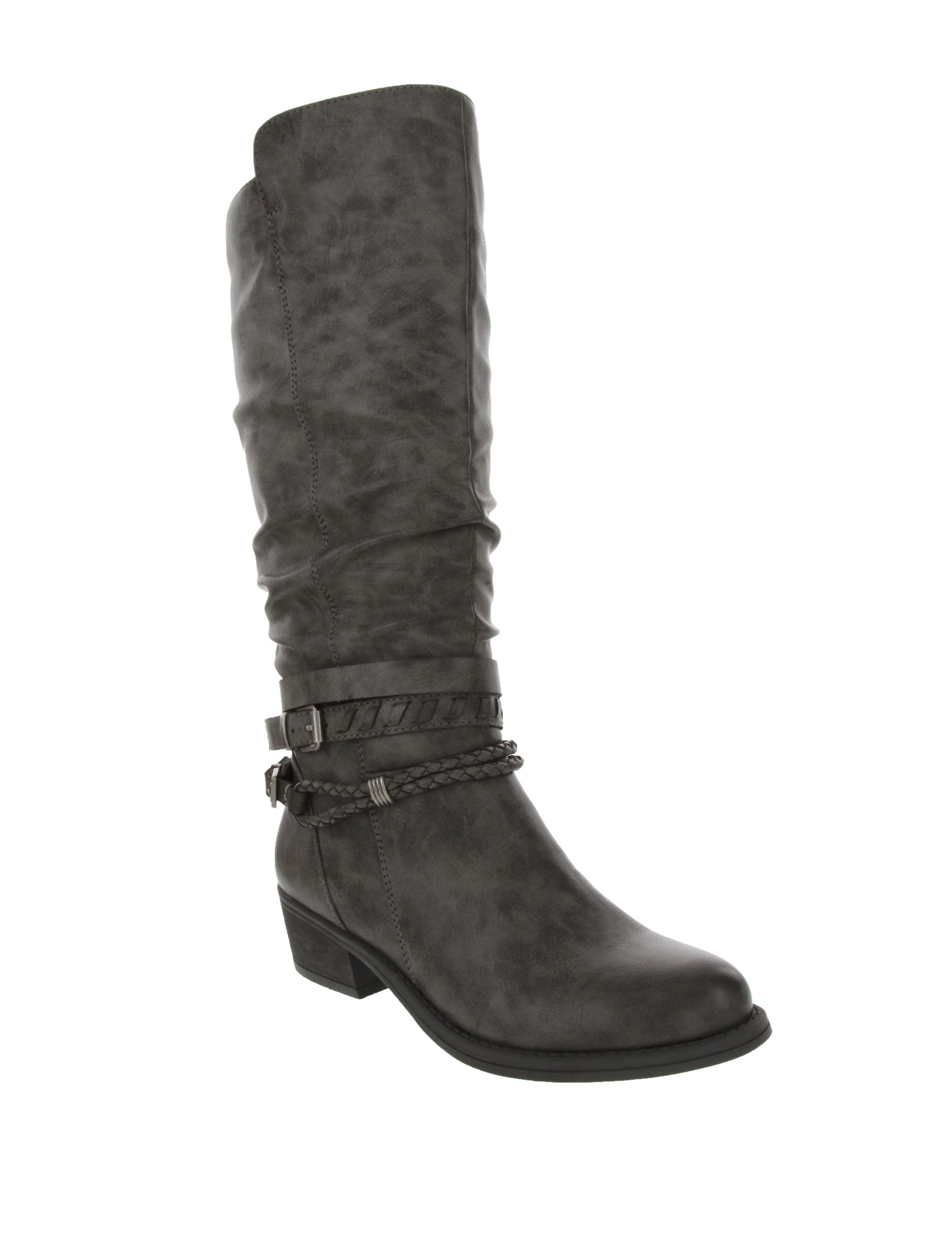 Rampage Charcoal Wide Calf