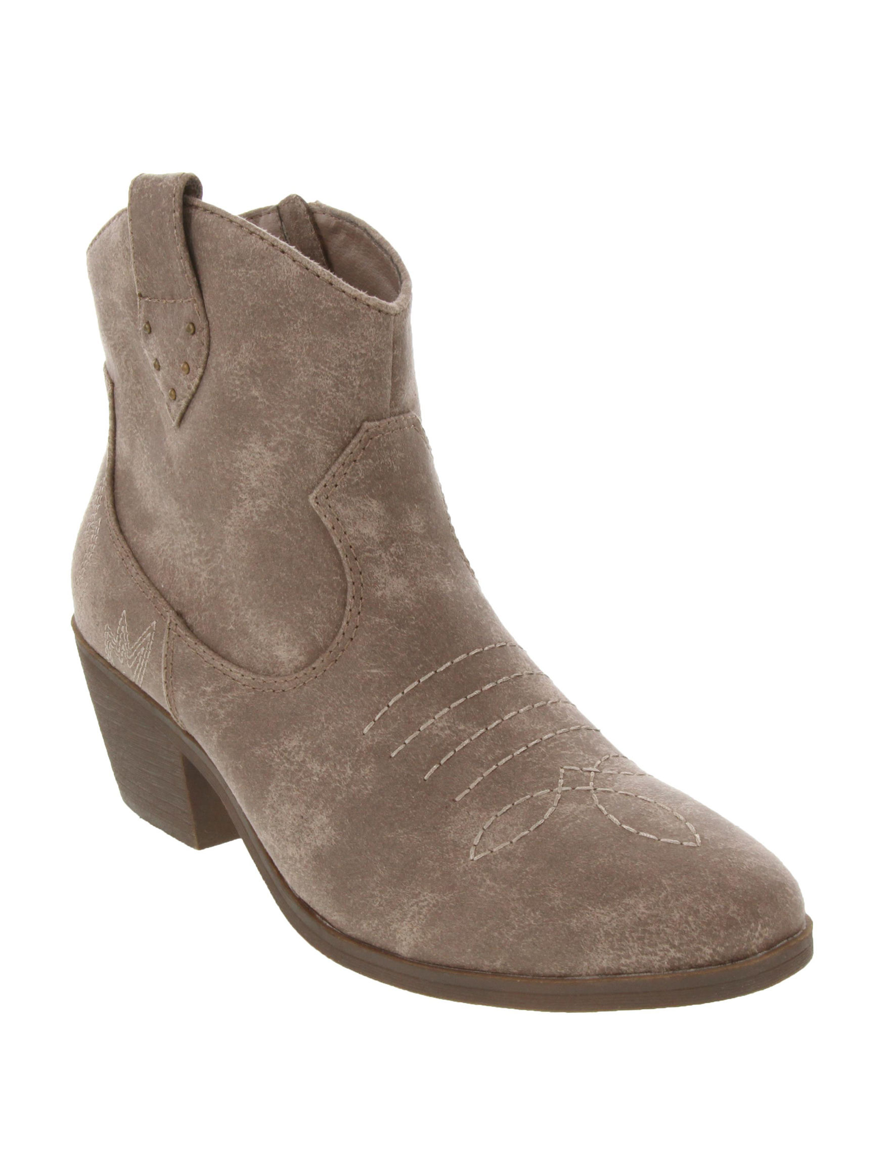 Rampage Taupe Ankle Boots & Booties