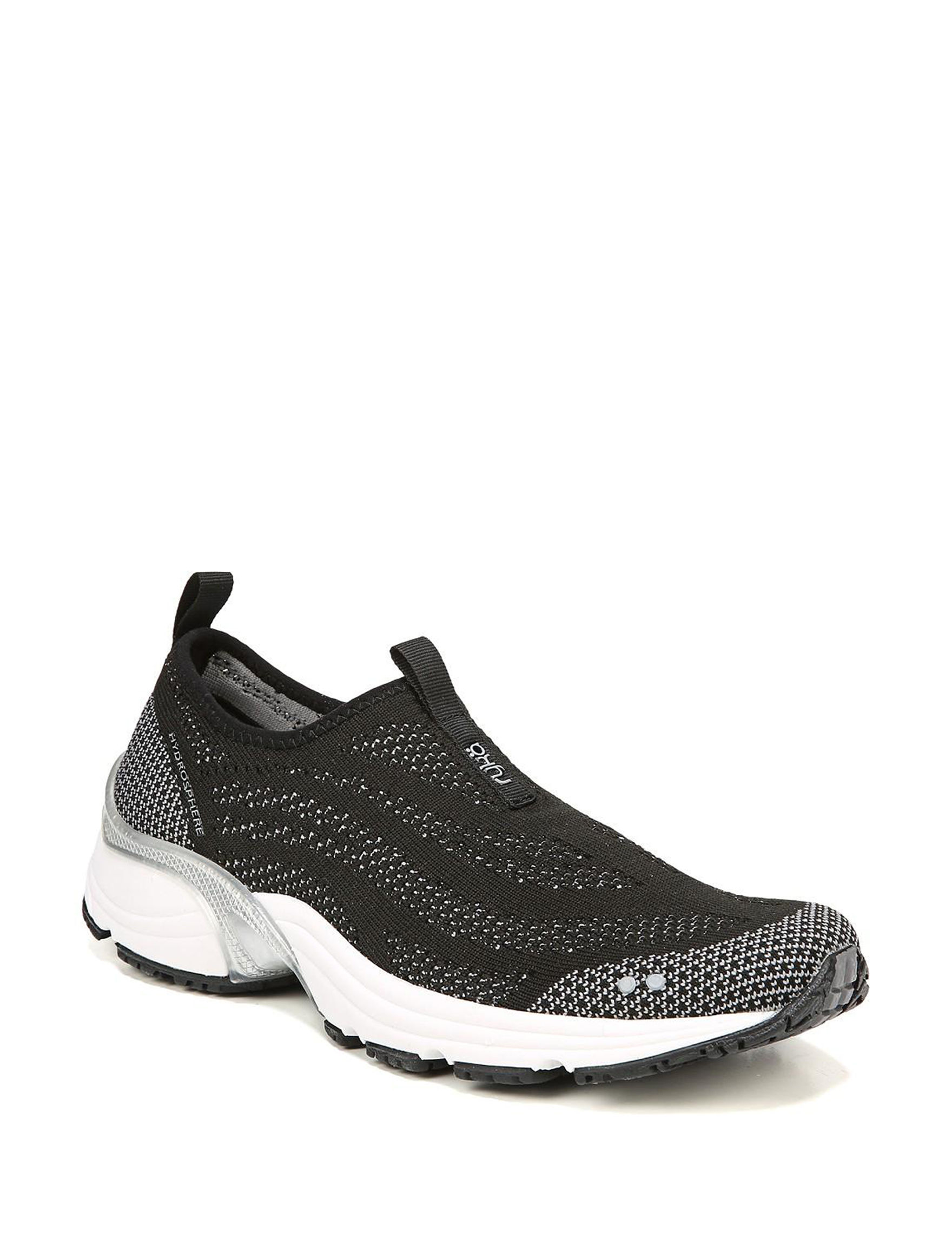 Ryka Black / White Comfort Shoes
