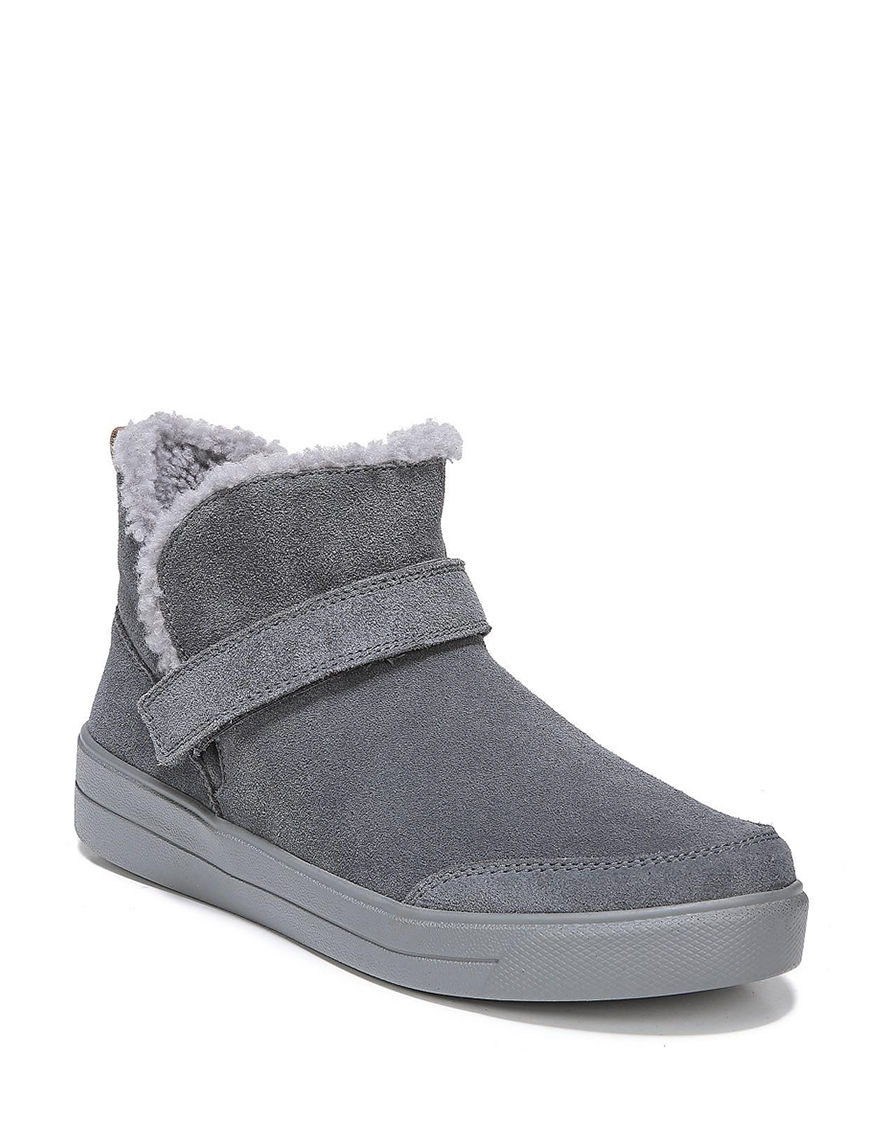 Ryka Grey Ankle Boots & Booties Comfort Shoes