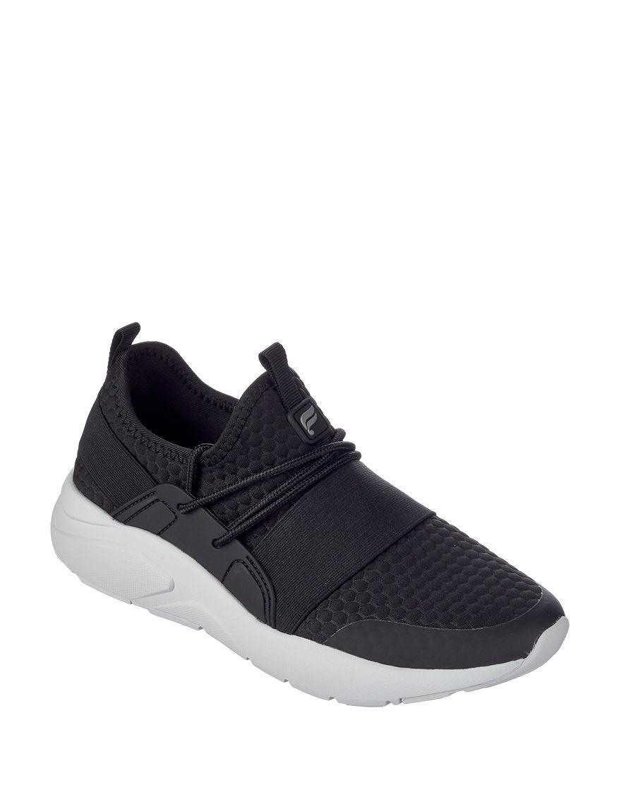 Fabletics Black / White Comfort Shoes