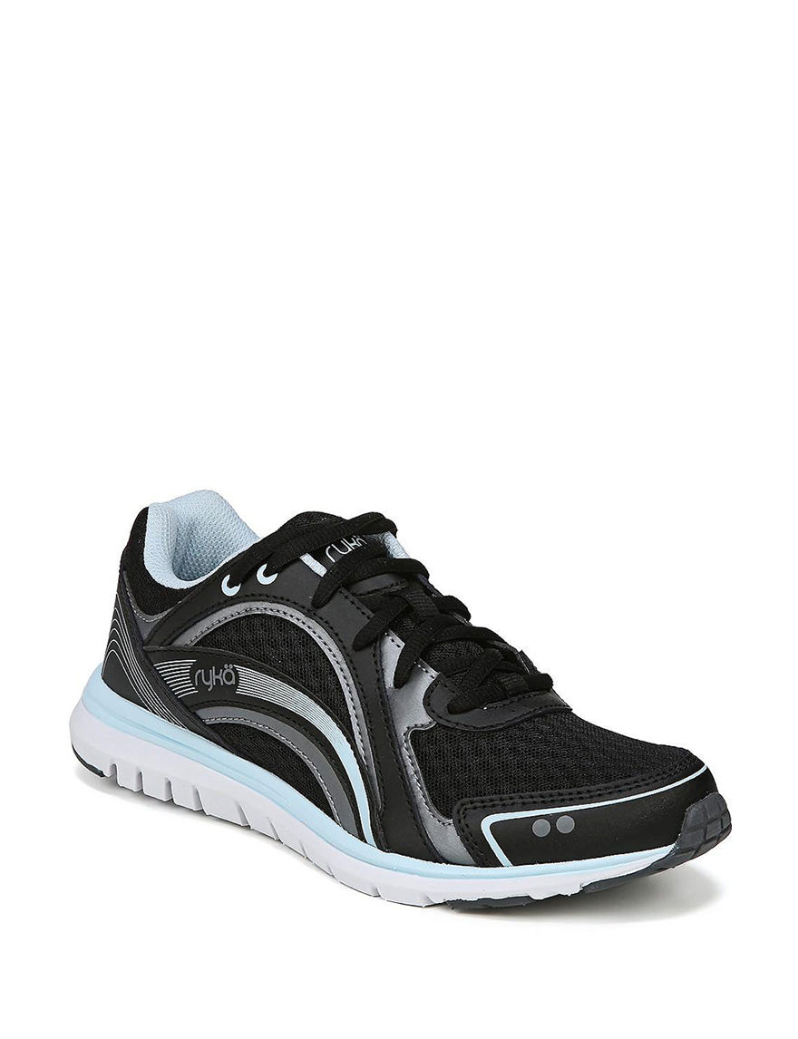 Ryka Black / Blue Comfort Shoes