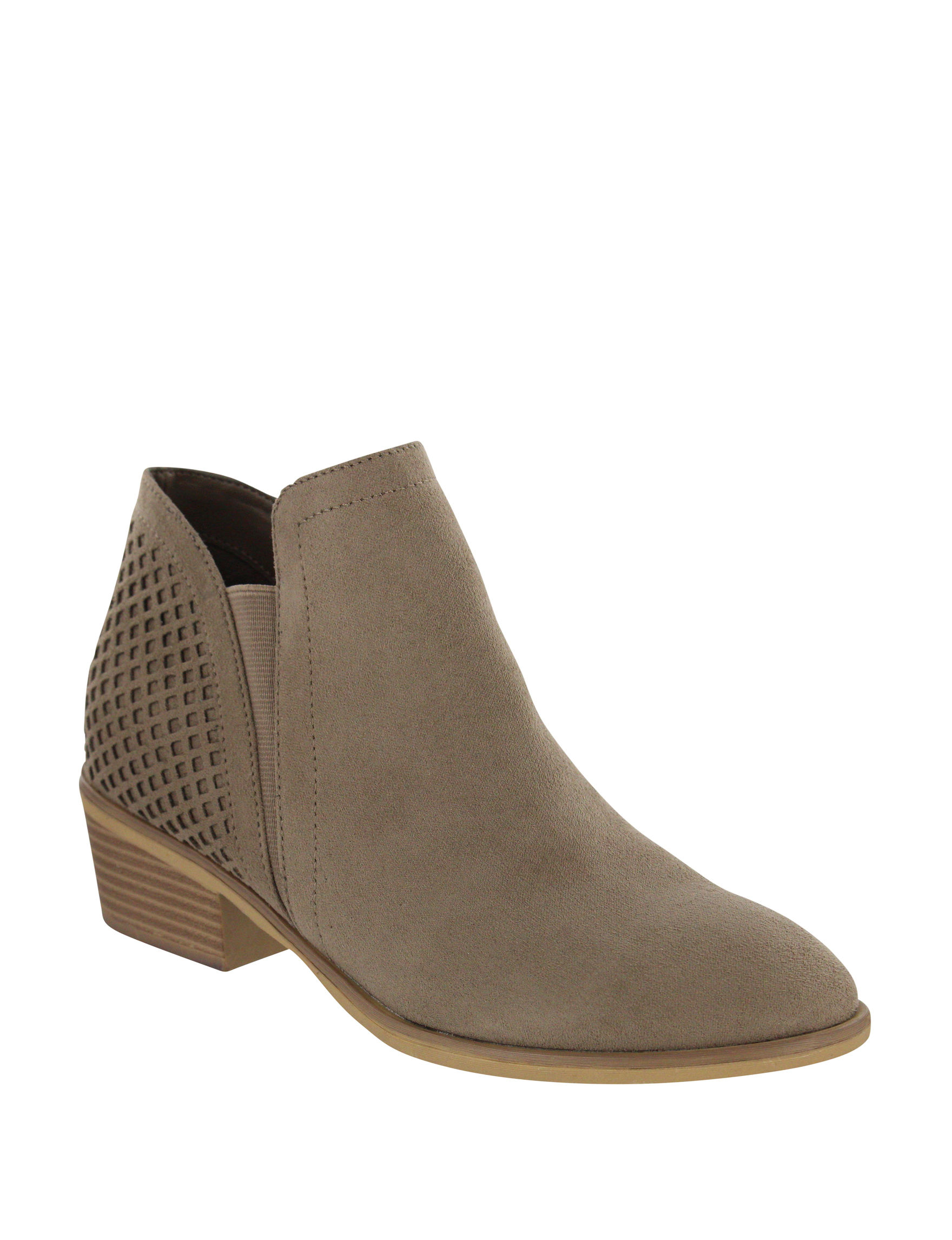 MIA Taupe Ankle Boots & Booties