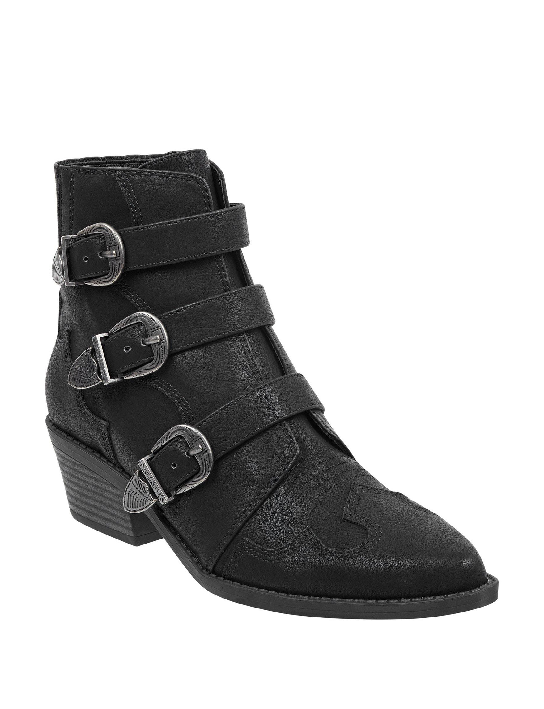 Indigo Rd. Black Ankle Boots & Booties