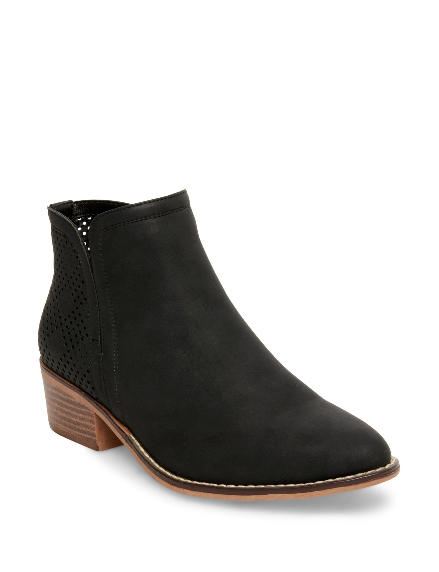 Madden Girl Black Ankle Boots & Booties